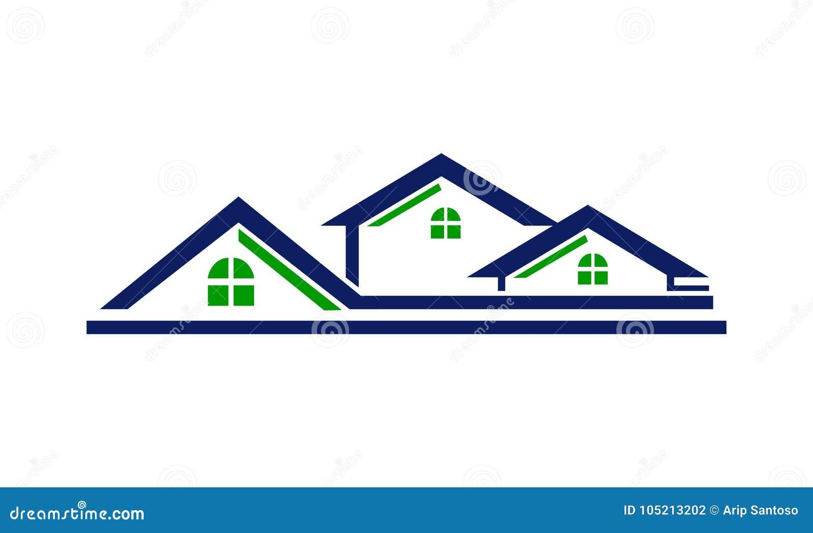 Линия крыши дома