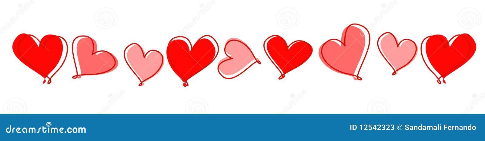 линия сердец рассекателя