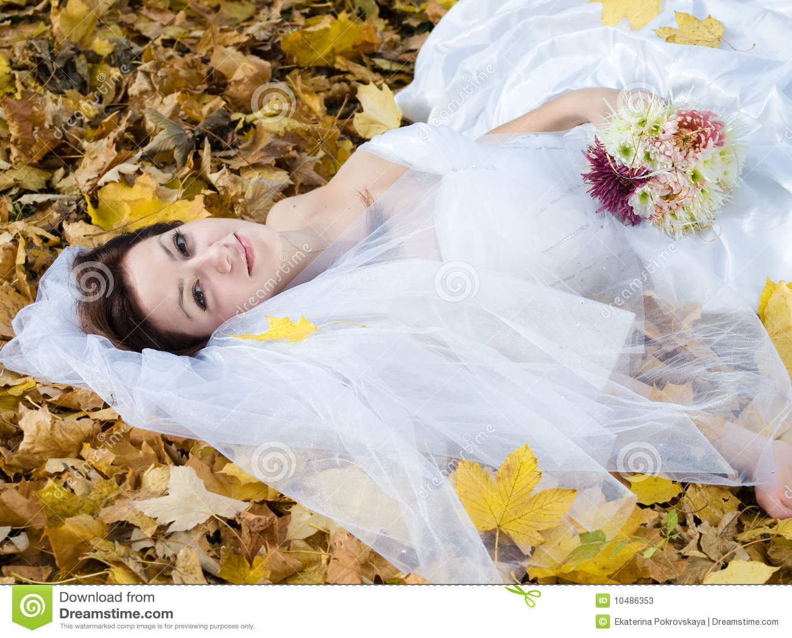 листья невесты