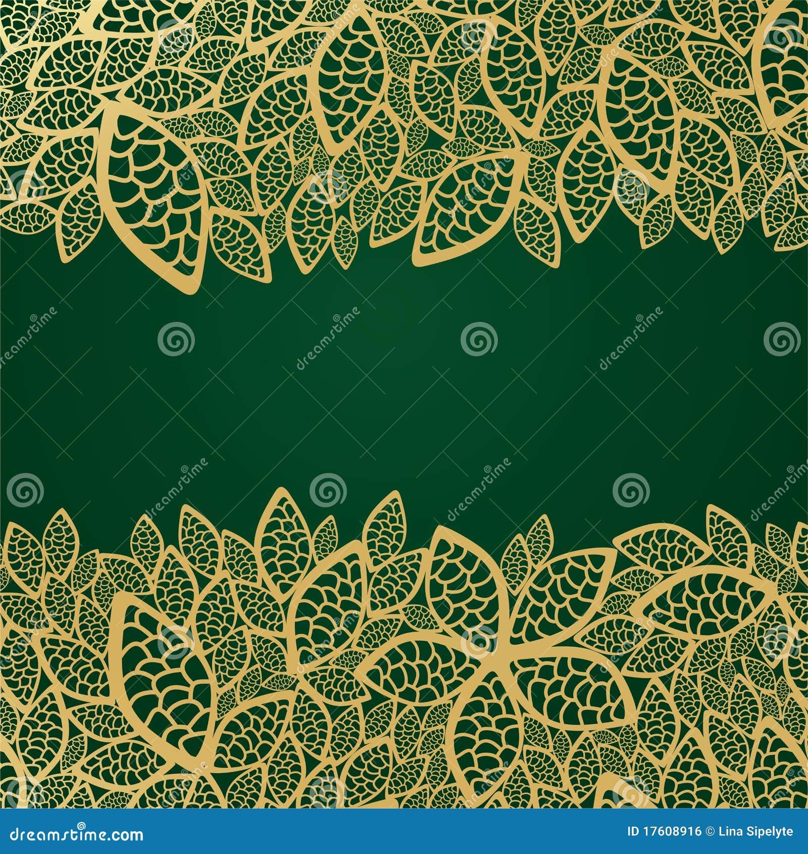 листья шнурка предпосылки золотистые зеленые