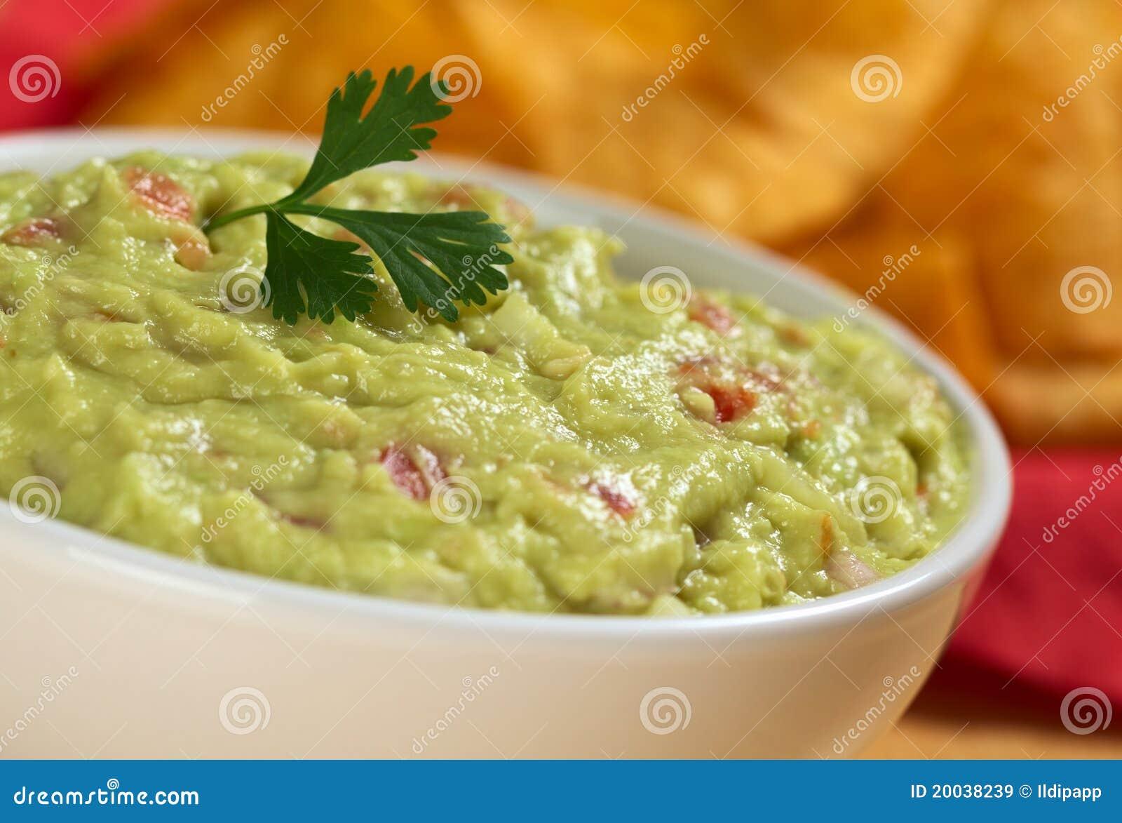 листья guacamole cilantro