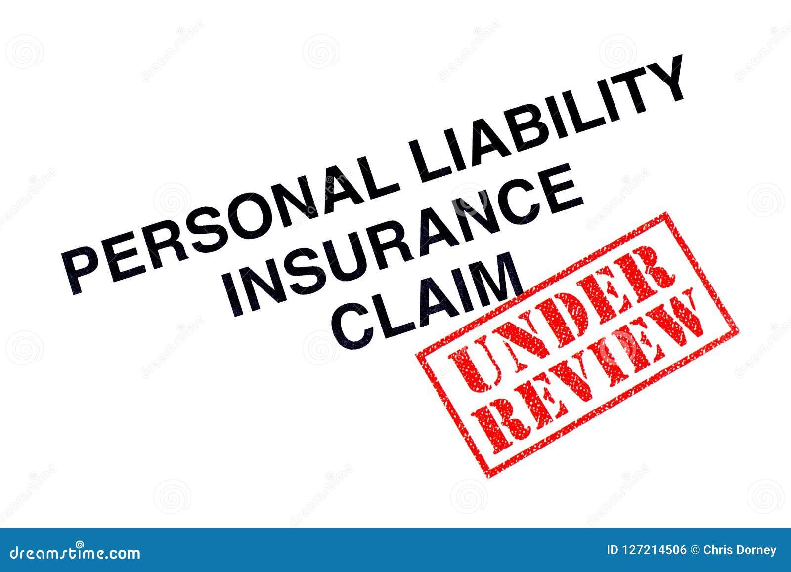 Личная заявка обязательства по страхованию