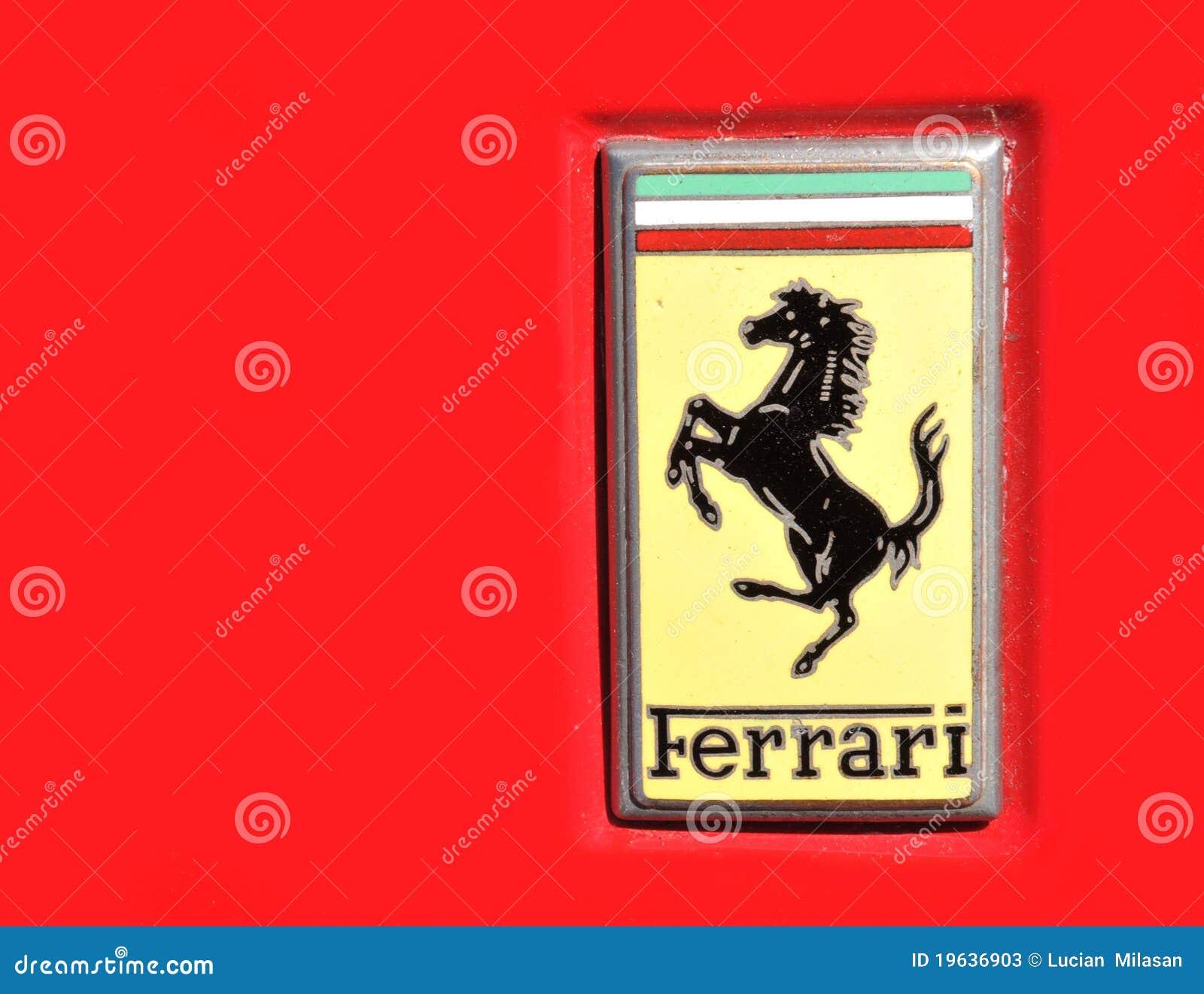 логос ferrari