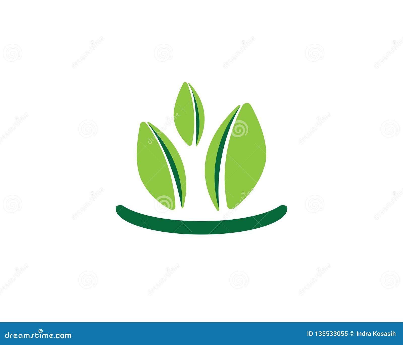 Логотипы зеленого цвета