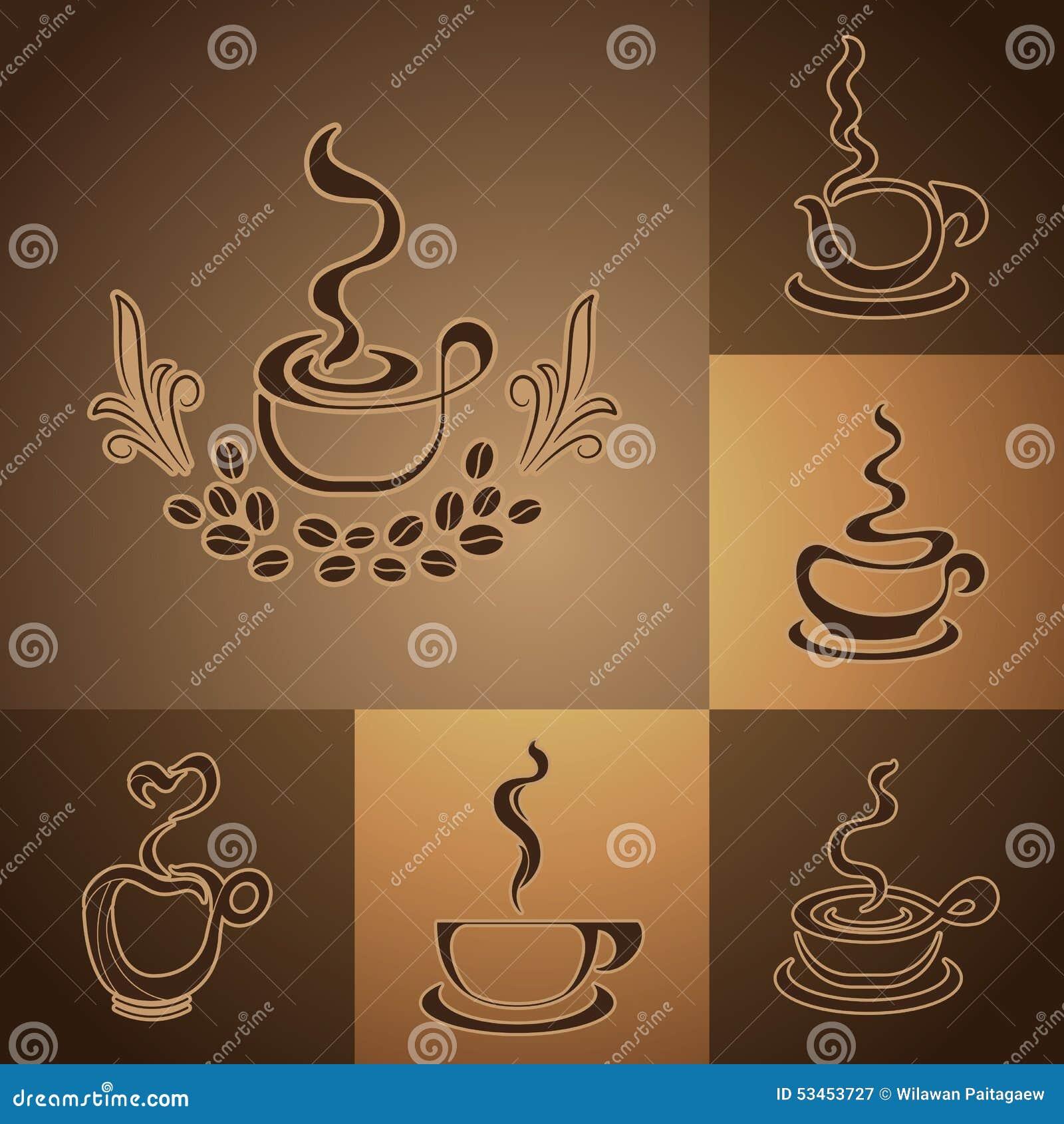 Логотипы кофейни