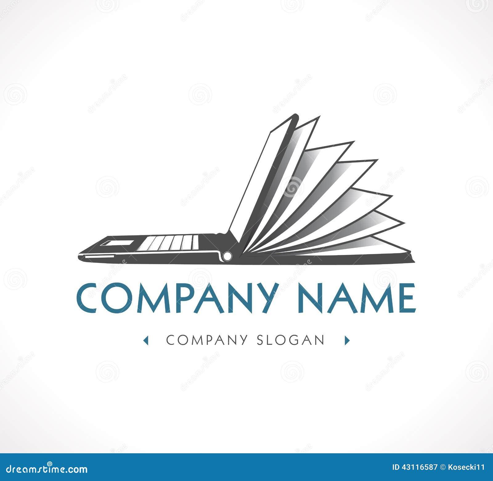 Book logos stock vector image 42714029 -  Rf