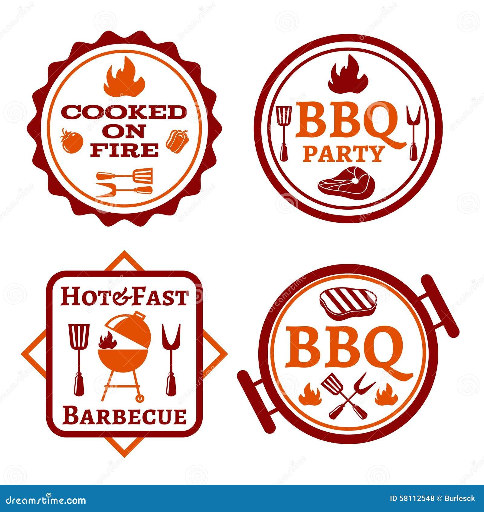 Логотип барбекю