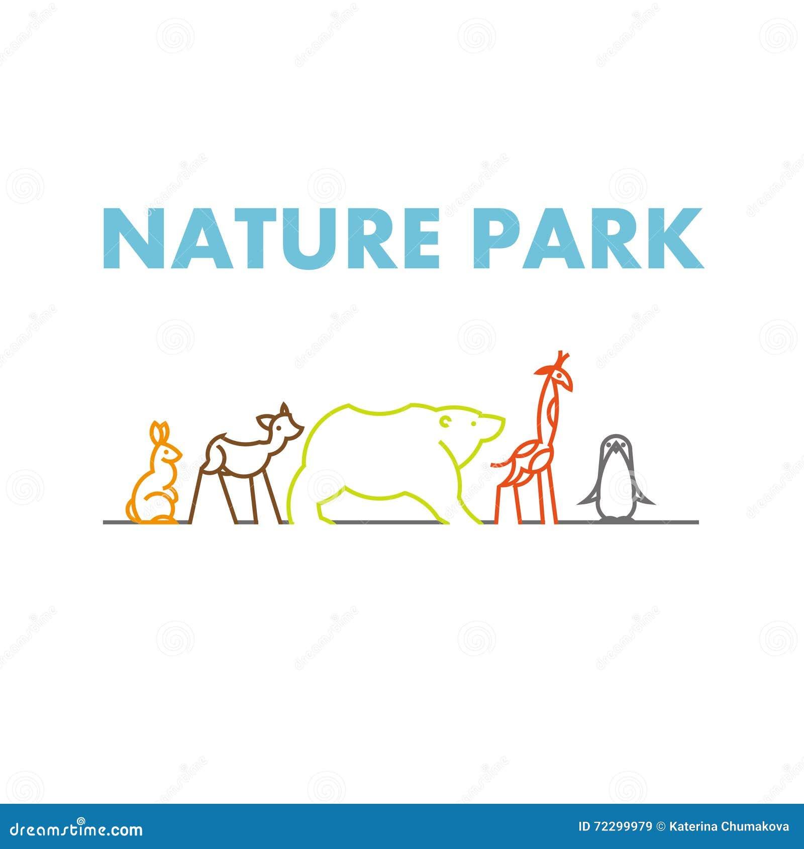 Download Логотип вектора плоско простой Minimalistic животный Иллюстрация вектора - иллюстрации насчитывающей линия, сторона: 72299979