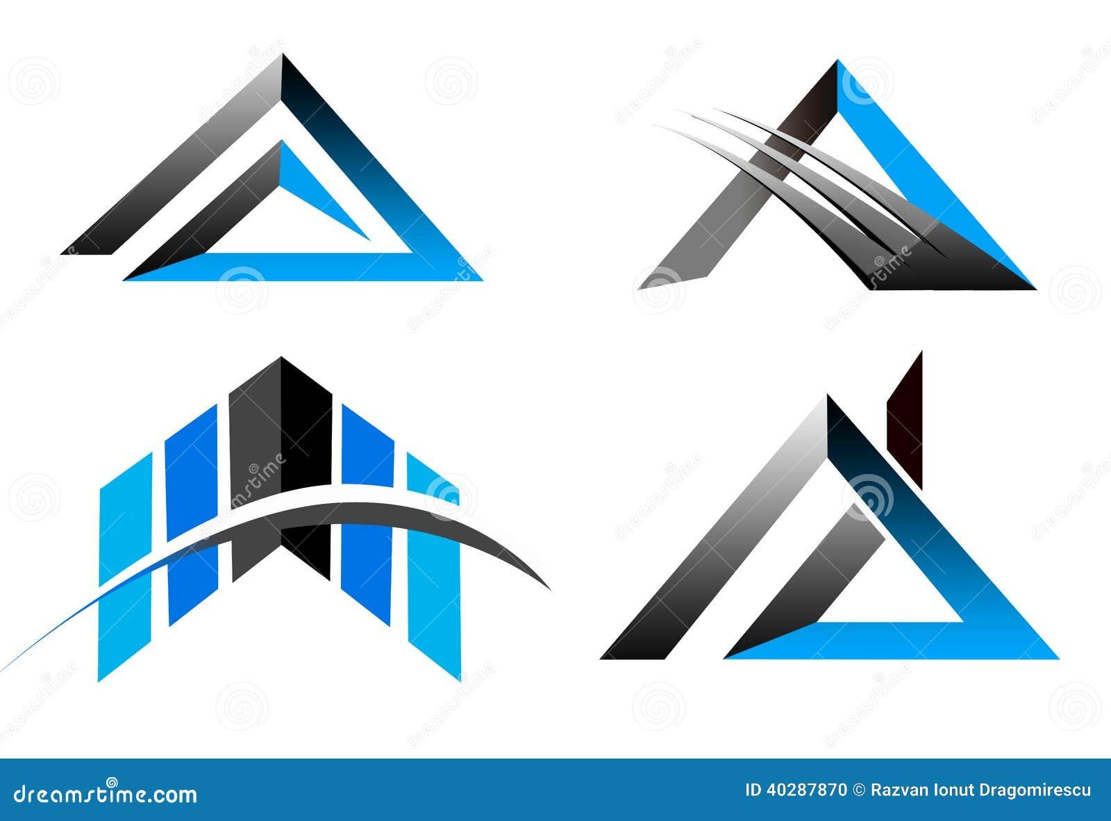 Логотип дела треугольника