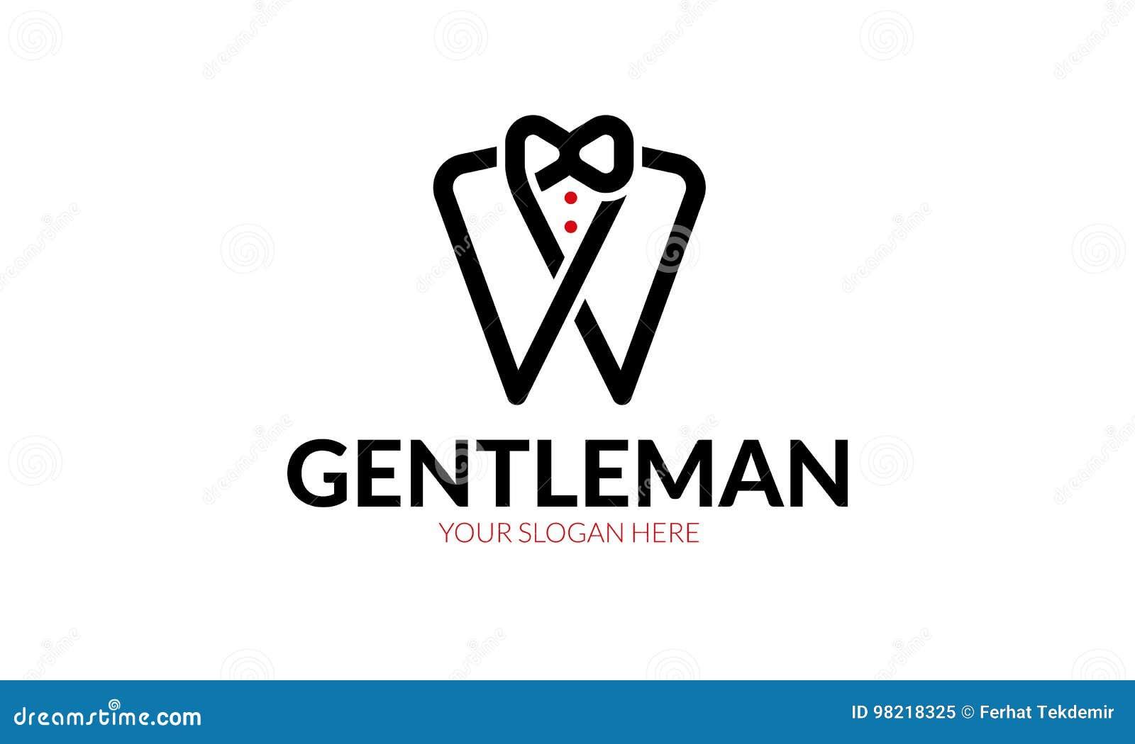 Логотип джентльмена