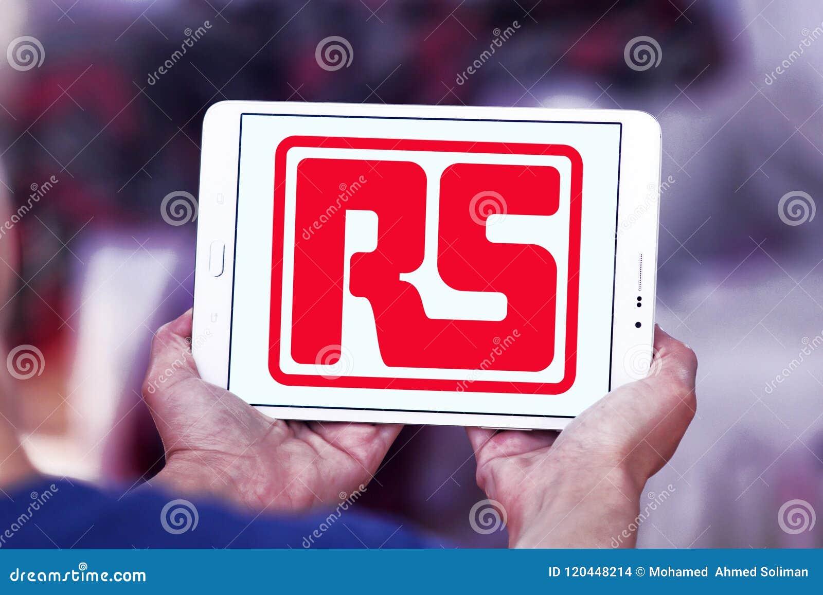 Логотип компании компонентов RS
