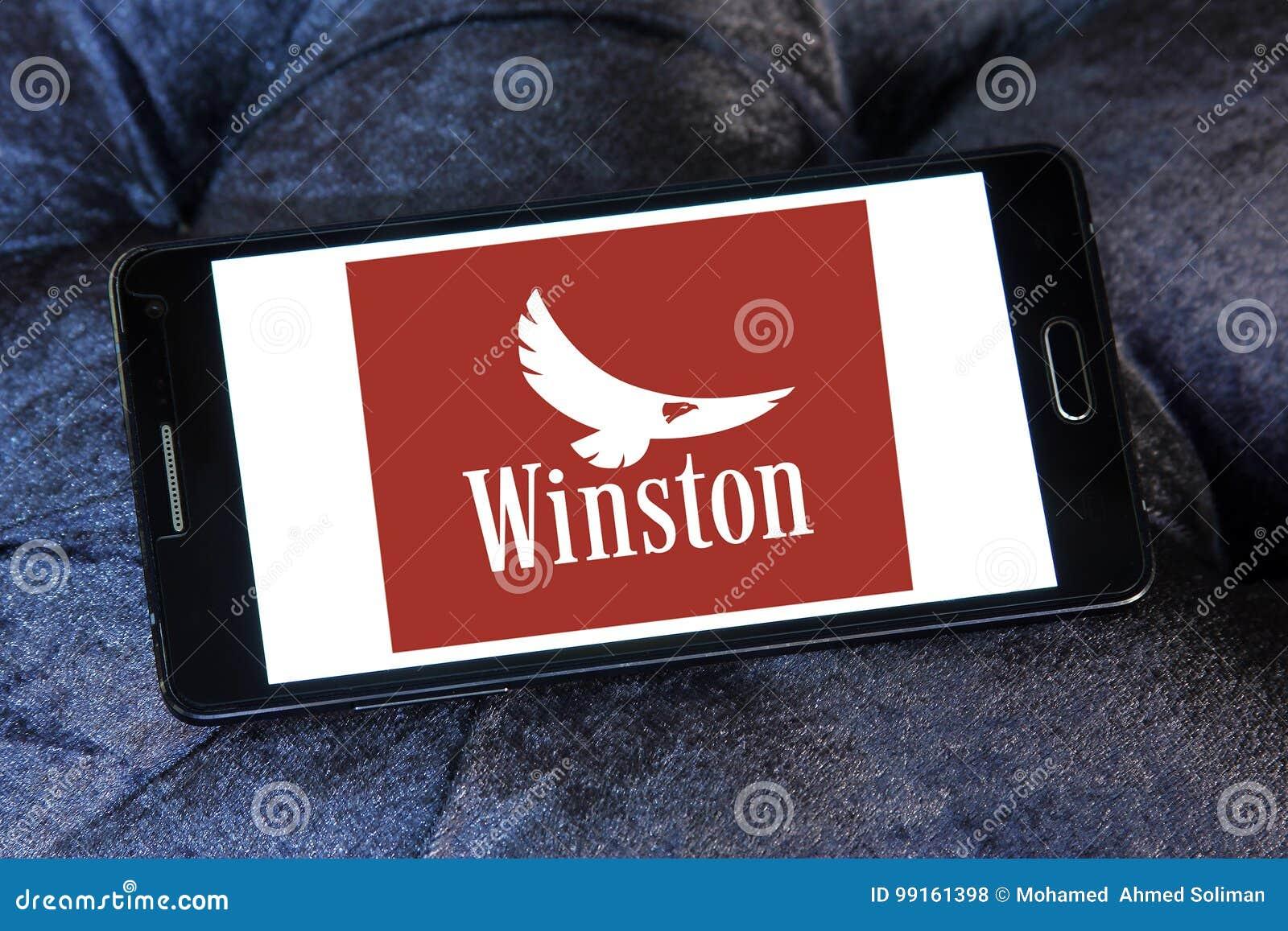 Логотип компании сигарет Winston
