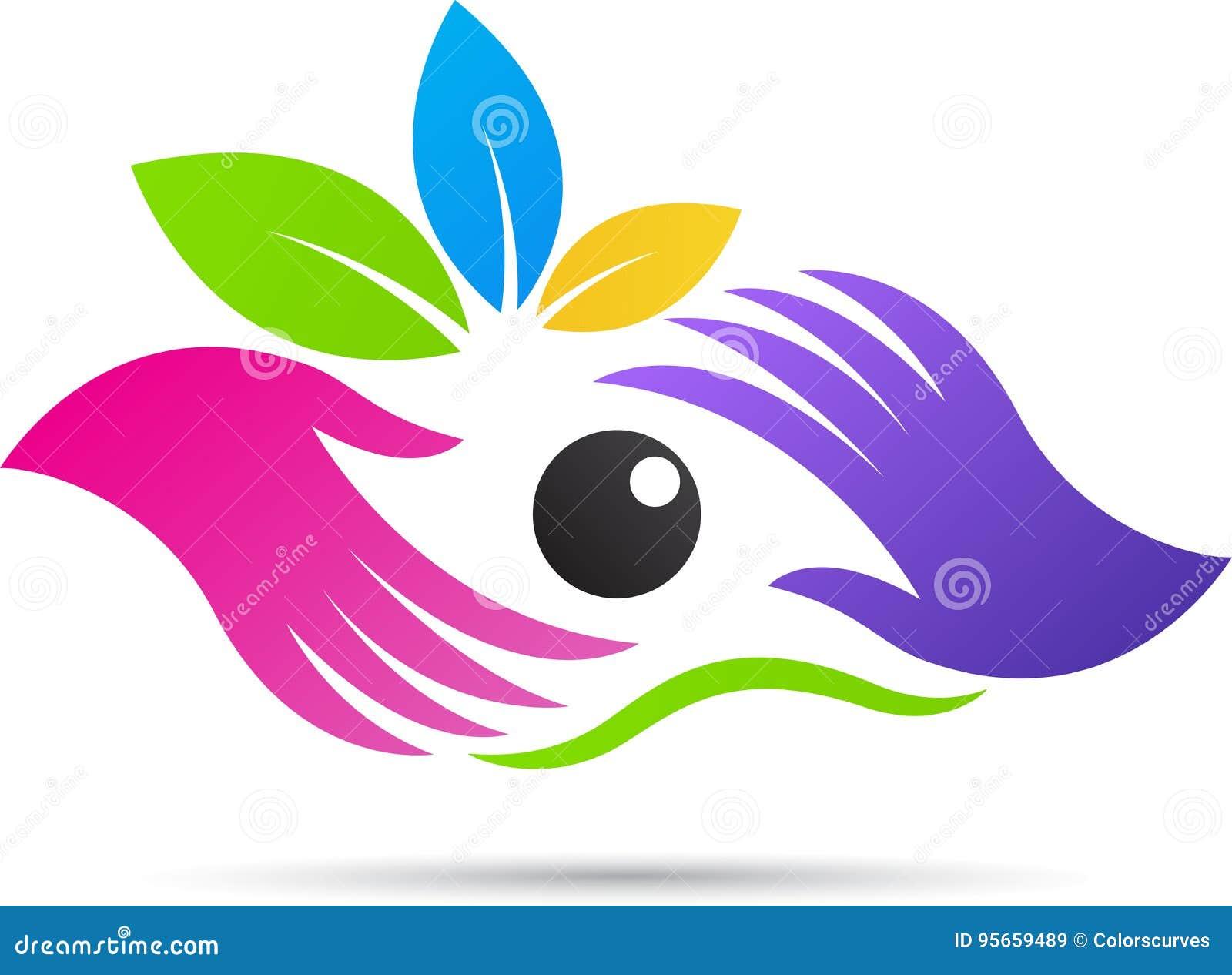 Логотип клиники специальности глаза