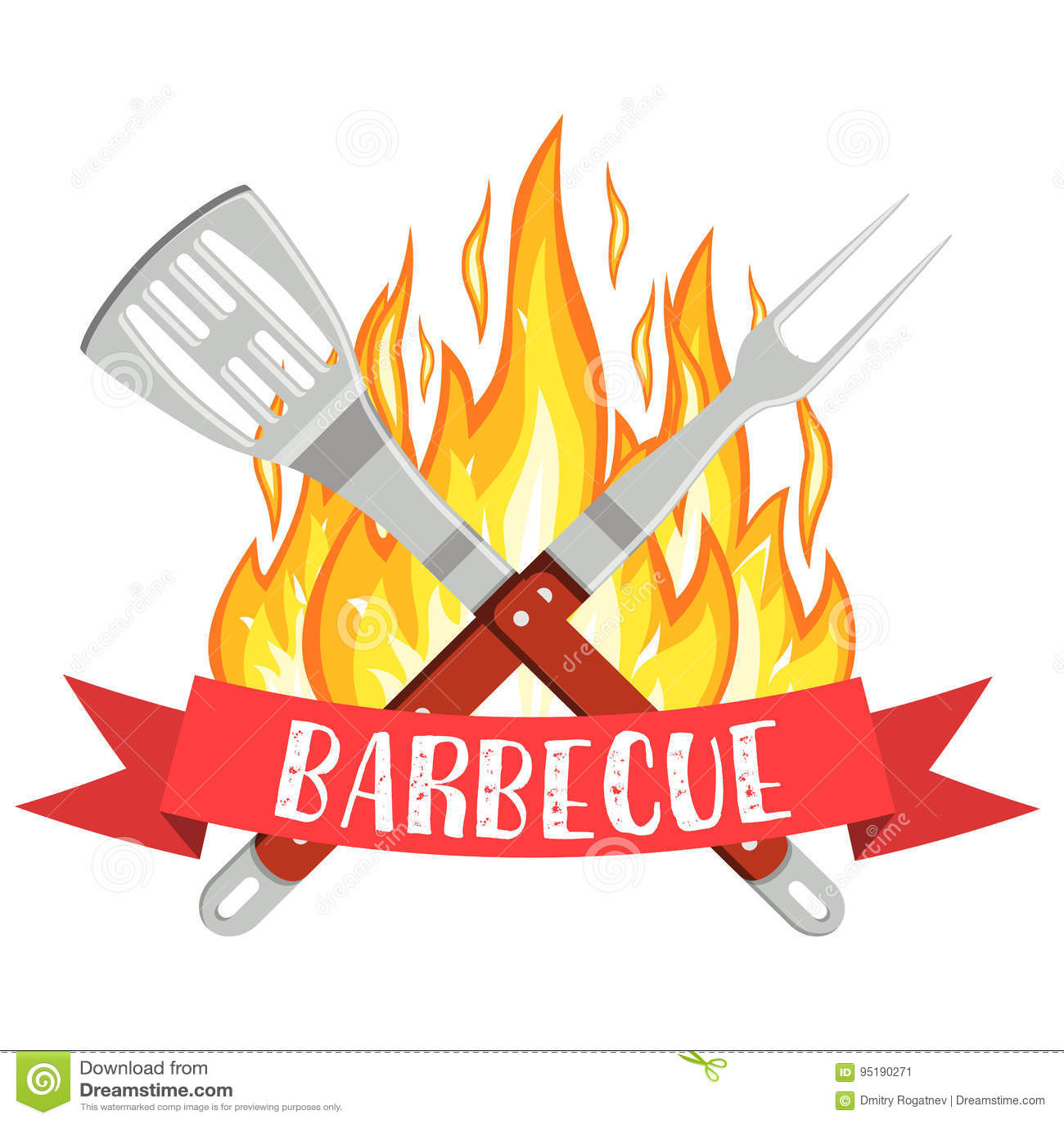 Логотип партии барбекю