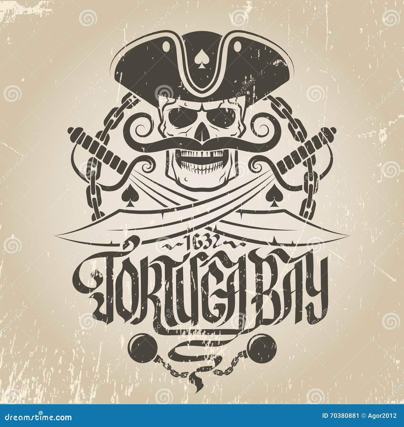 Логотип пирата