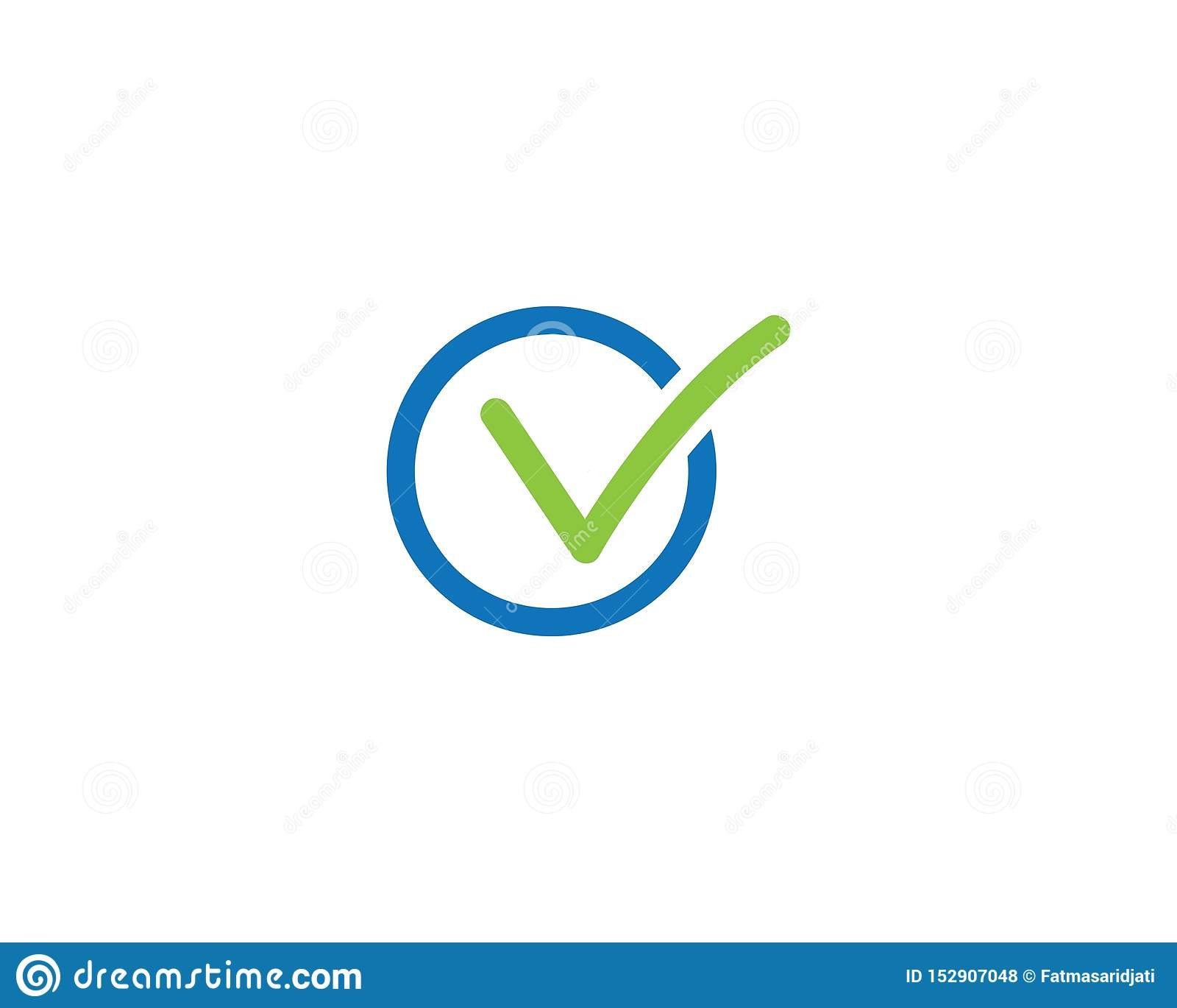 Логотип письма контрольной пометки v