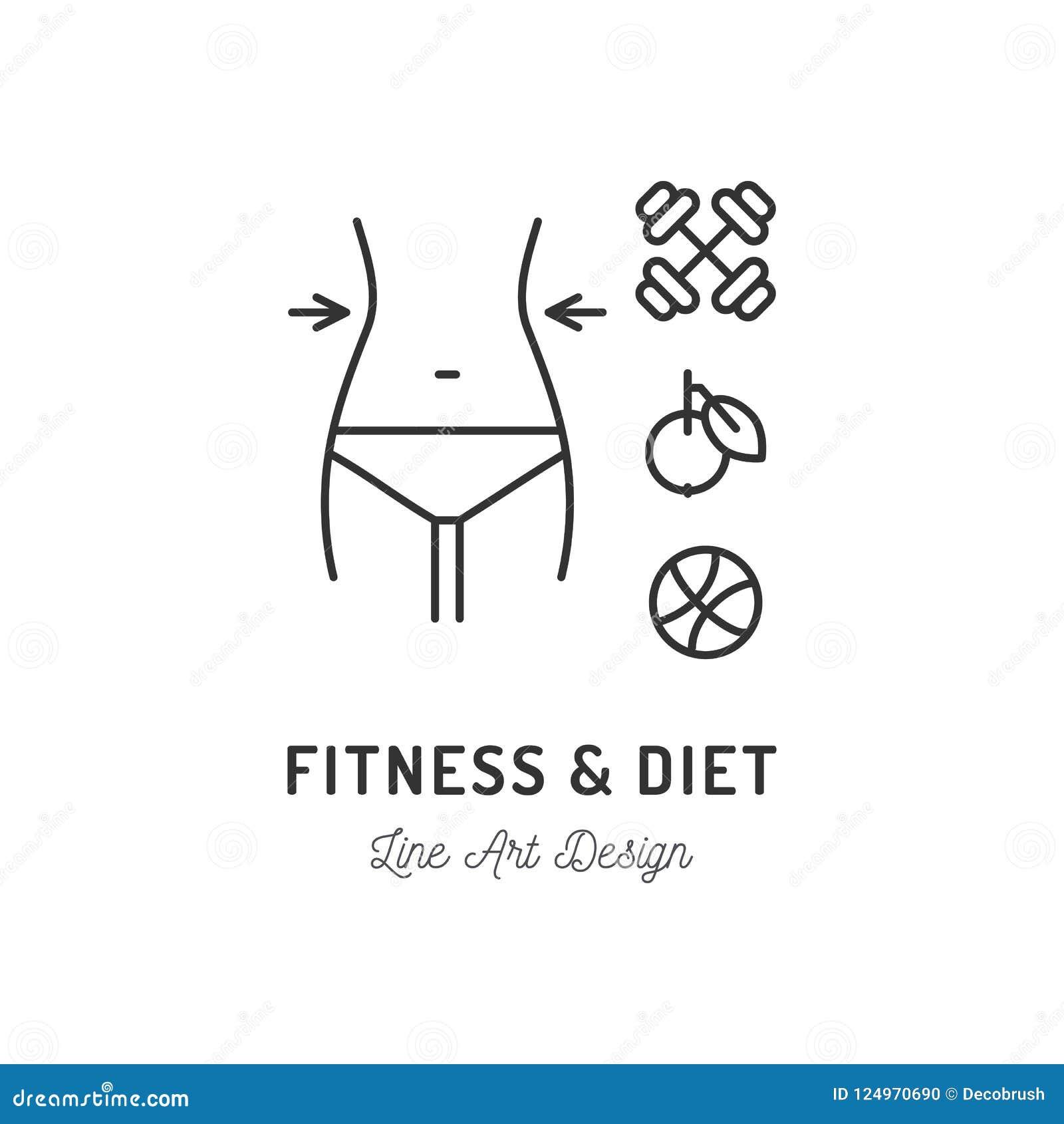 Женщина идеально стройное тело. Диета, здоровый образ жизни.