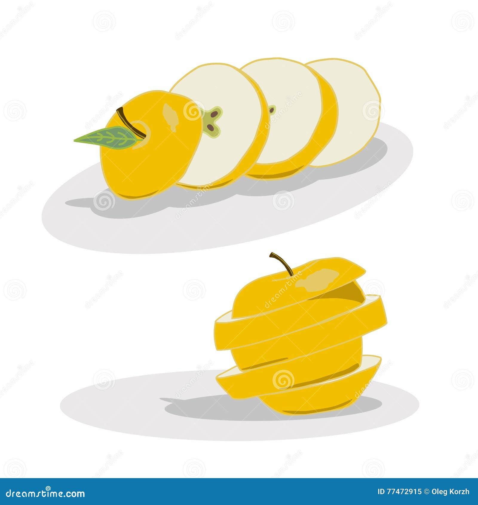 Логотип для Яблока
