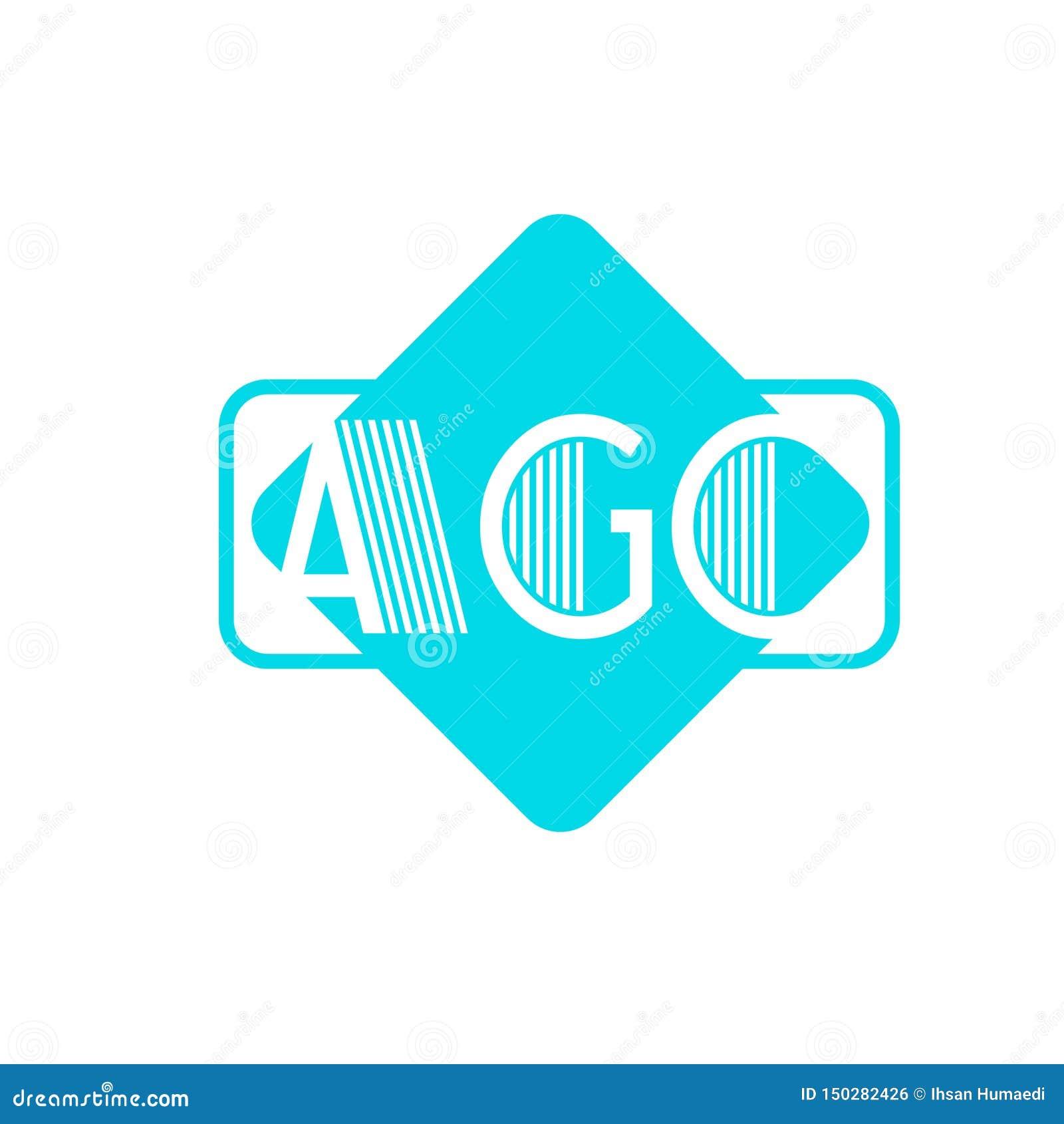 Логотип AGC печатает внутри коробку
