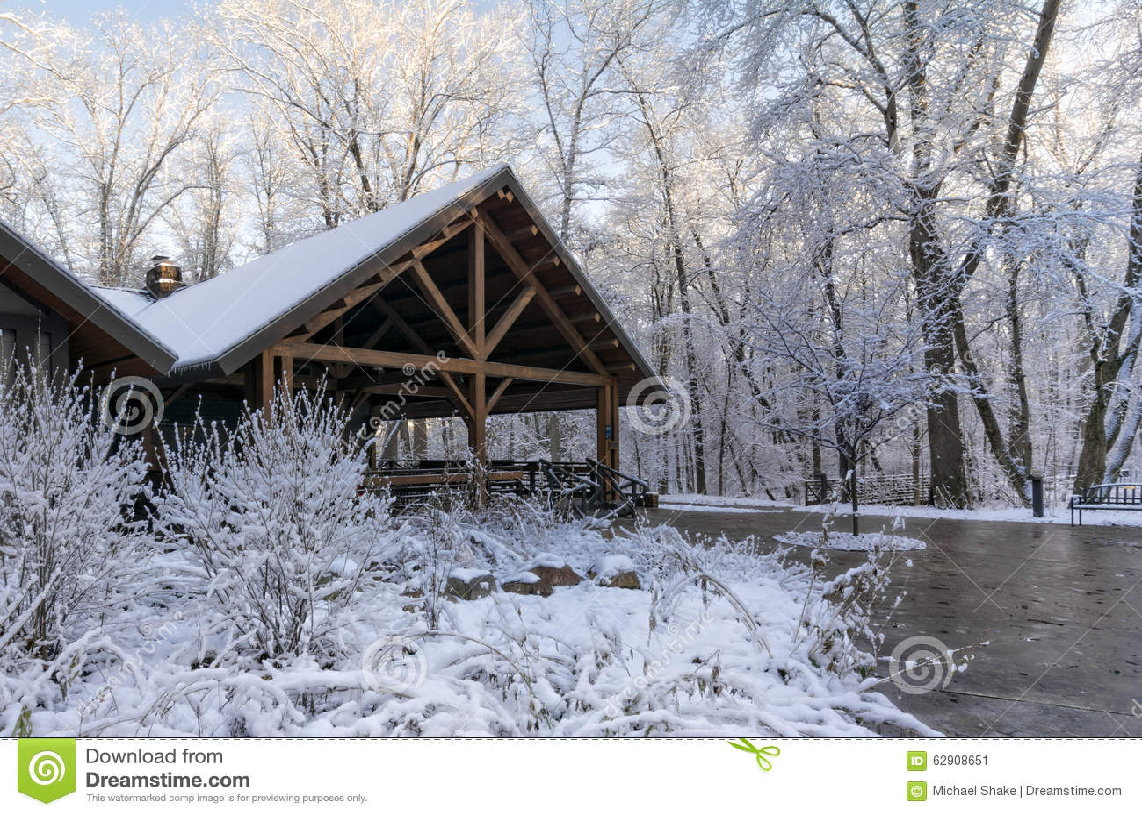 Ложа зимы Snowy