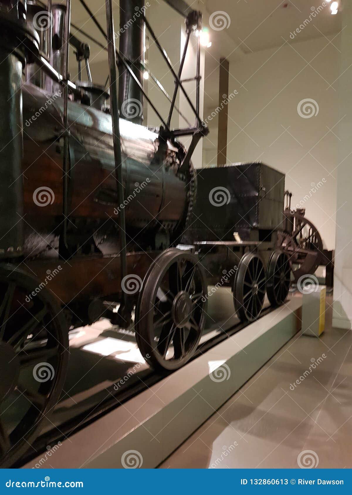 Локомотивная ракета Stephenson