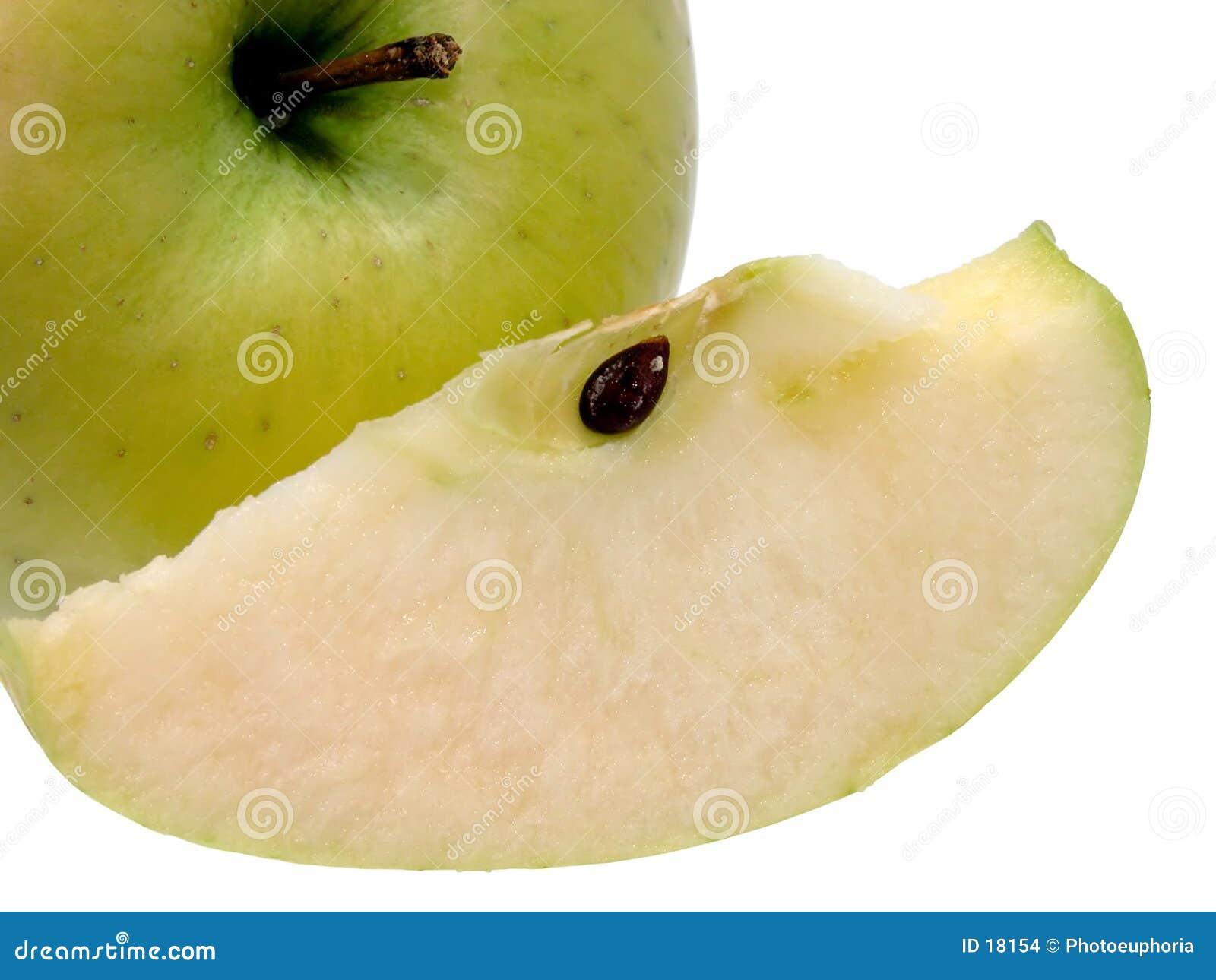 ломтик яблока