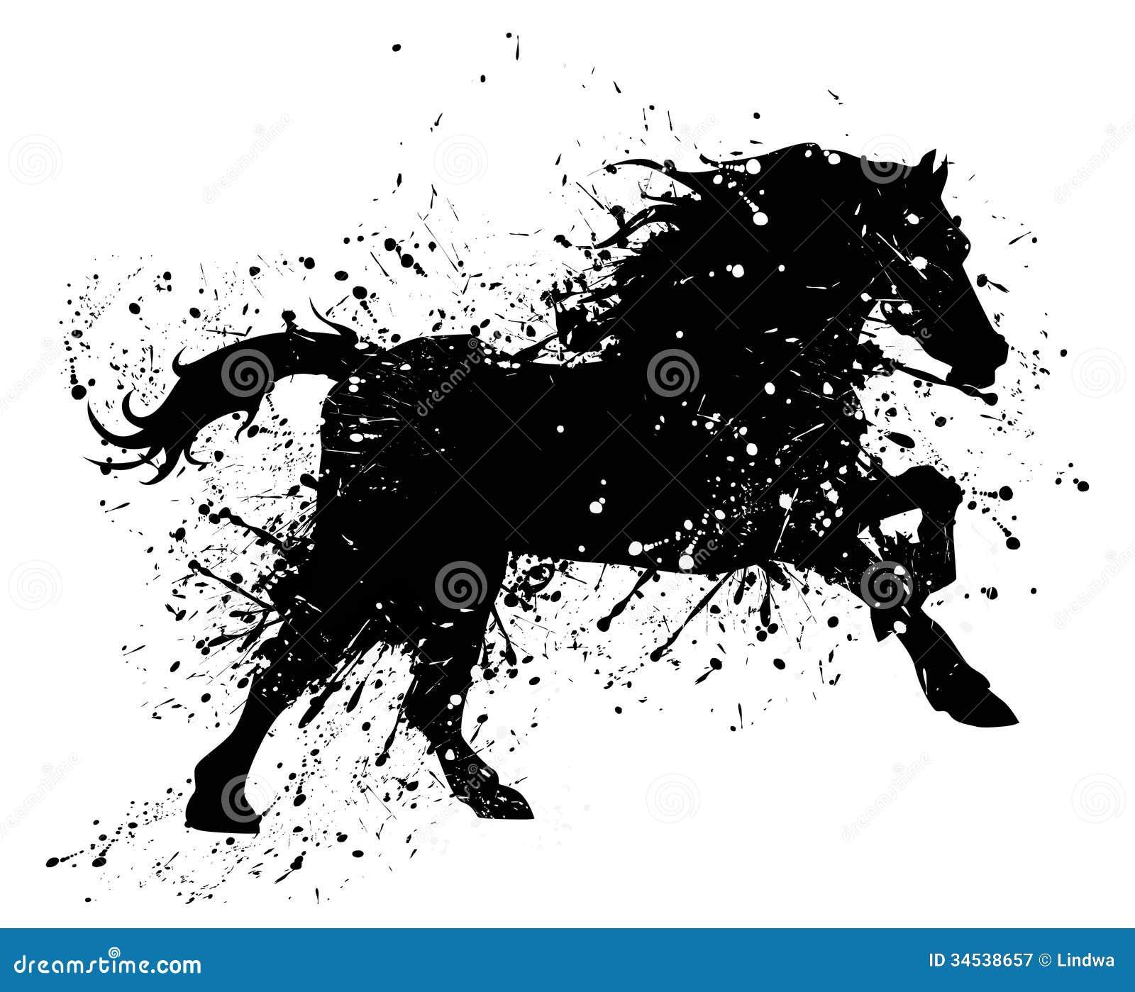 Лошадь Grunge