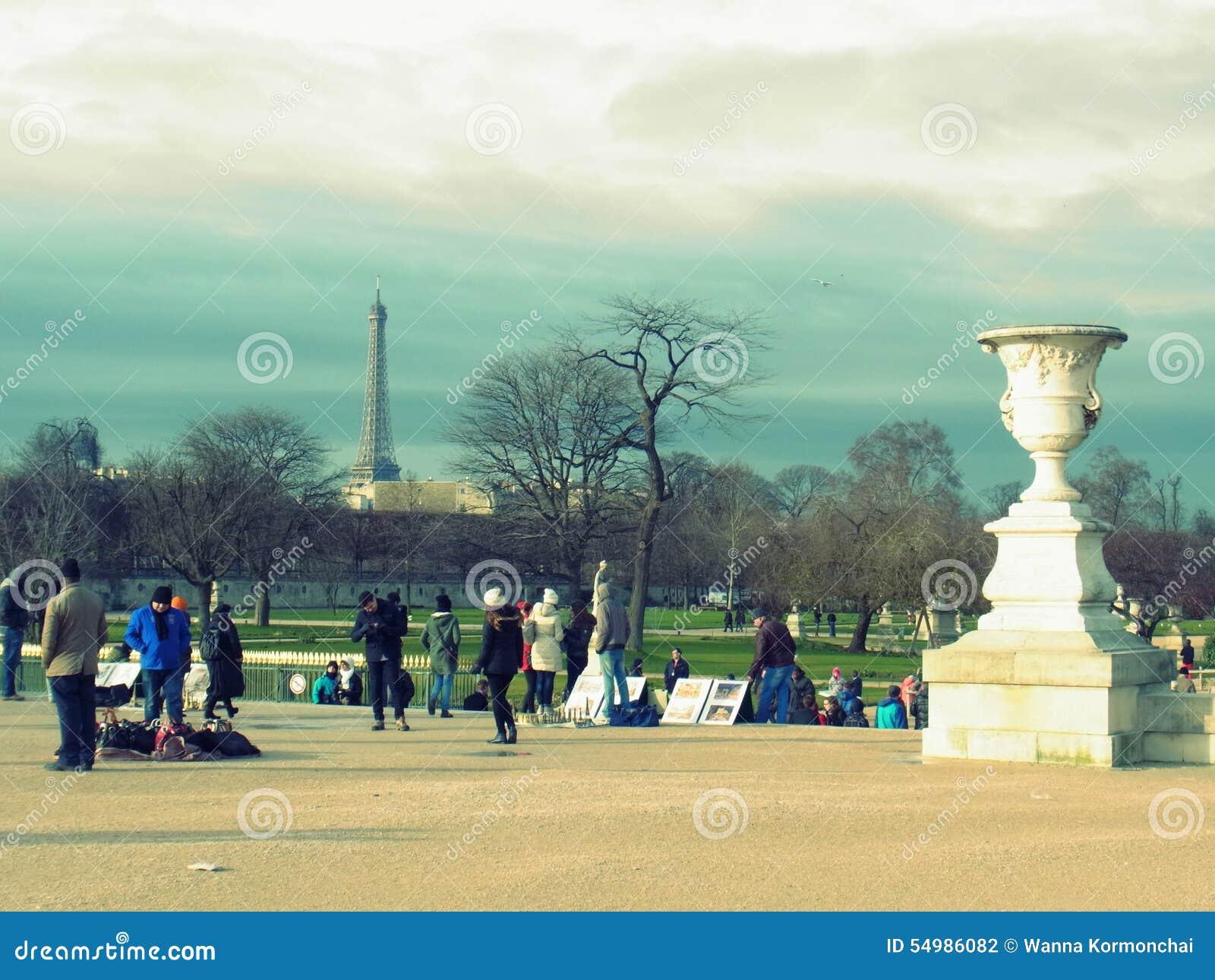 Лувр, элегантное, Париж, Франция, Европа, вход,