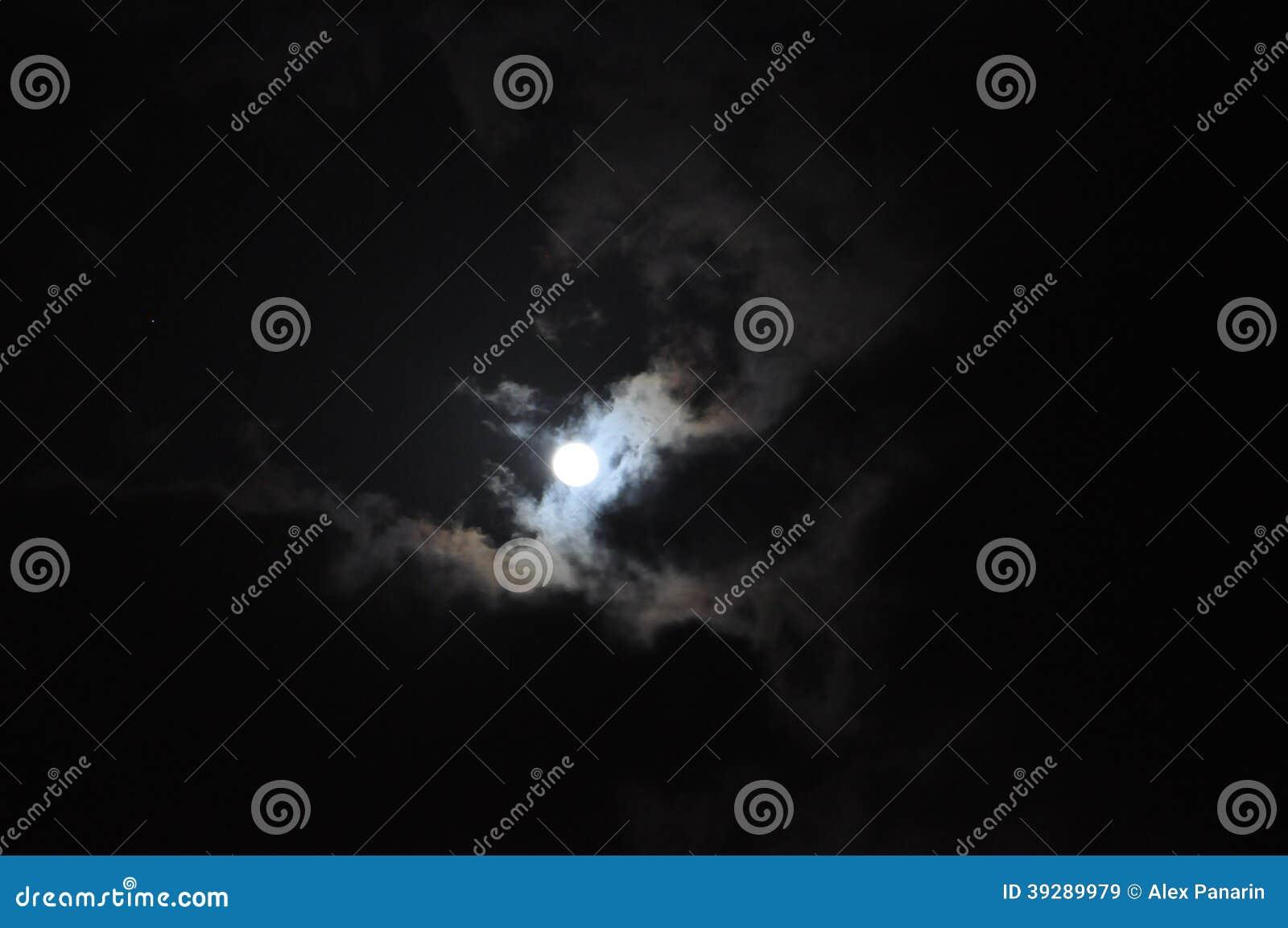 Луна ночи
