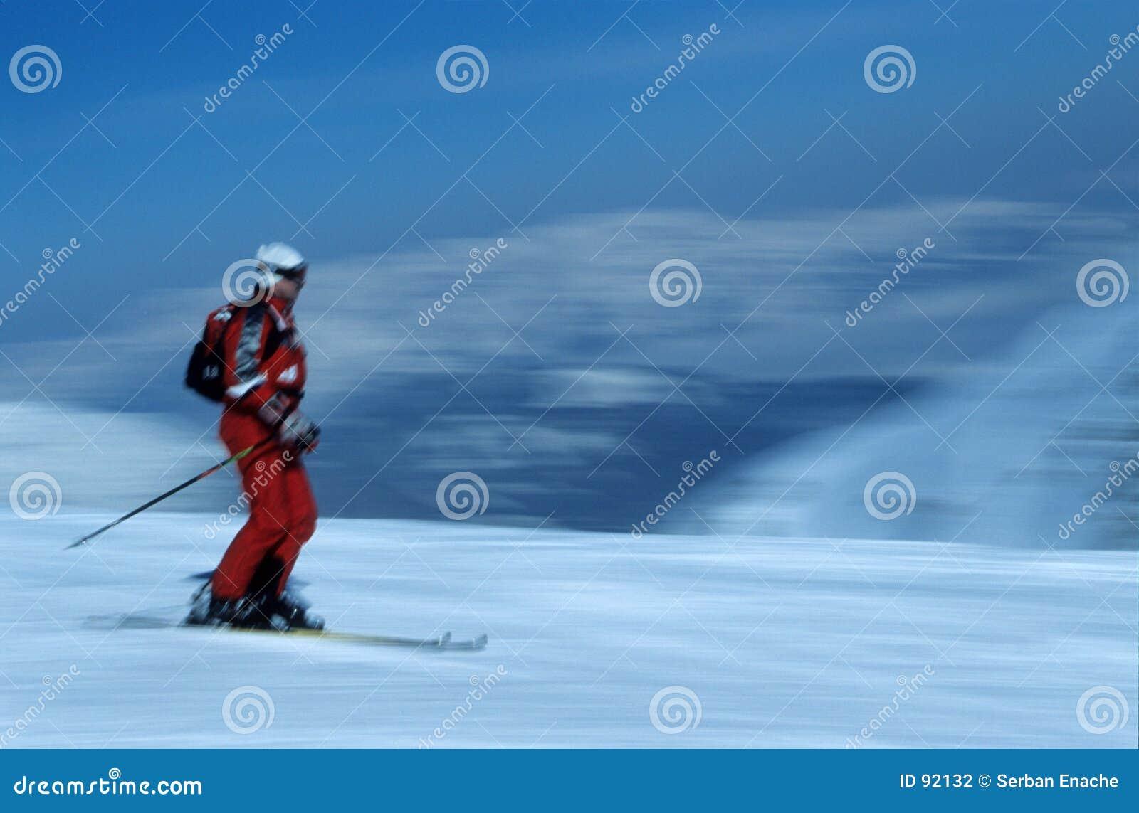 лыжник 5 действий
