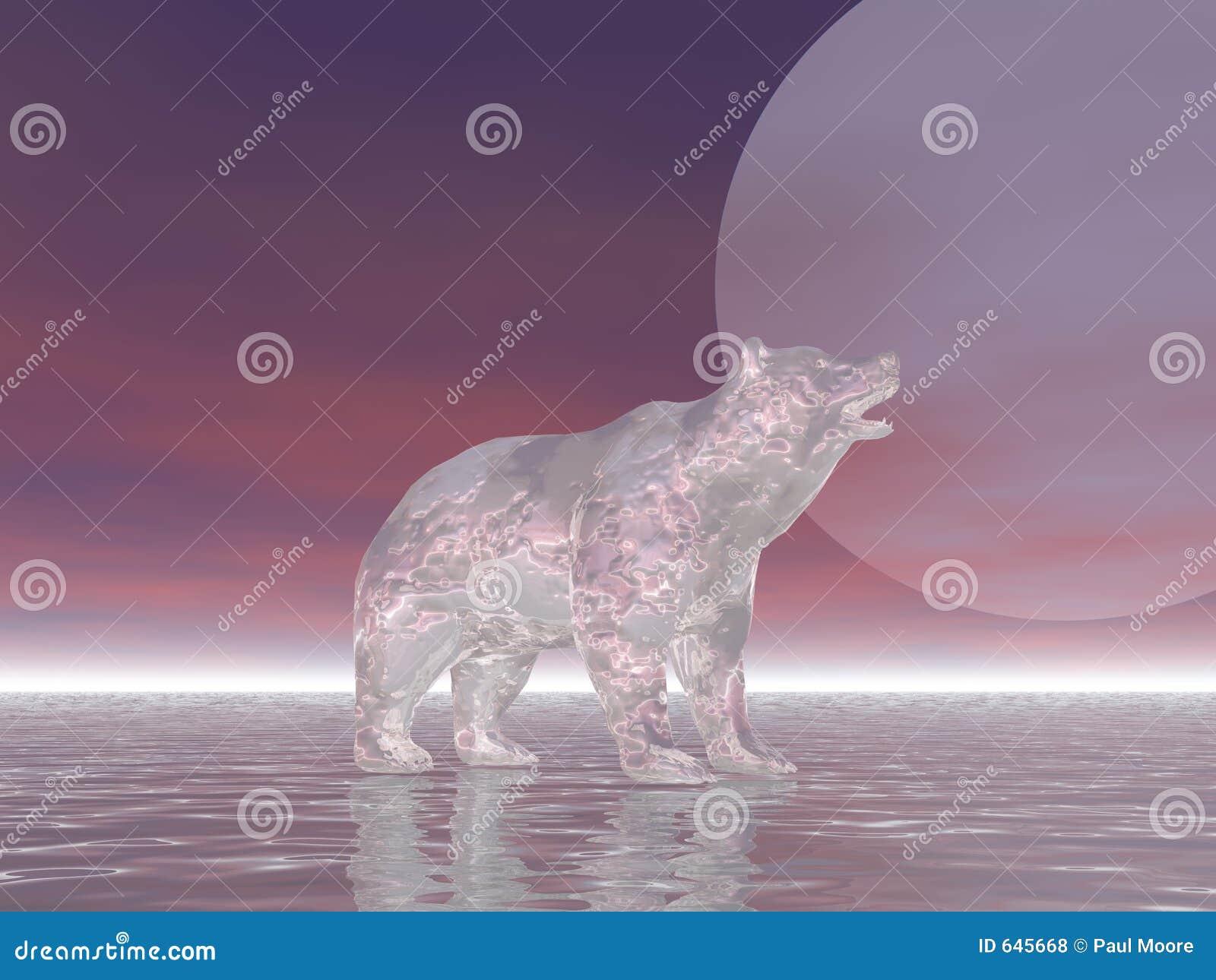 Download льдед медведя иллюстрация штока. иллюстрации насчитывающей айсберг - 645668
