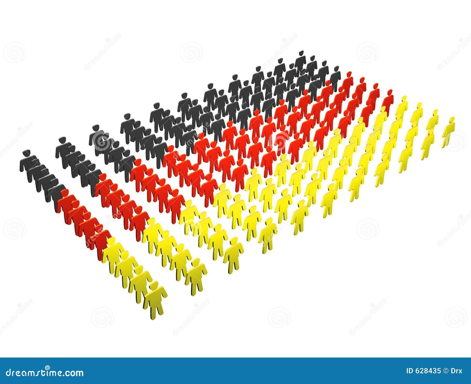 Download люди Германии флага немецкие Иллюстрация штока - иллюстрации насчитывающей представьте, республика: 628435