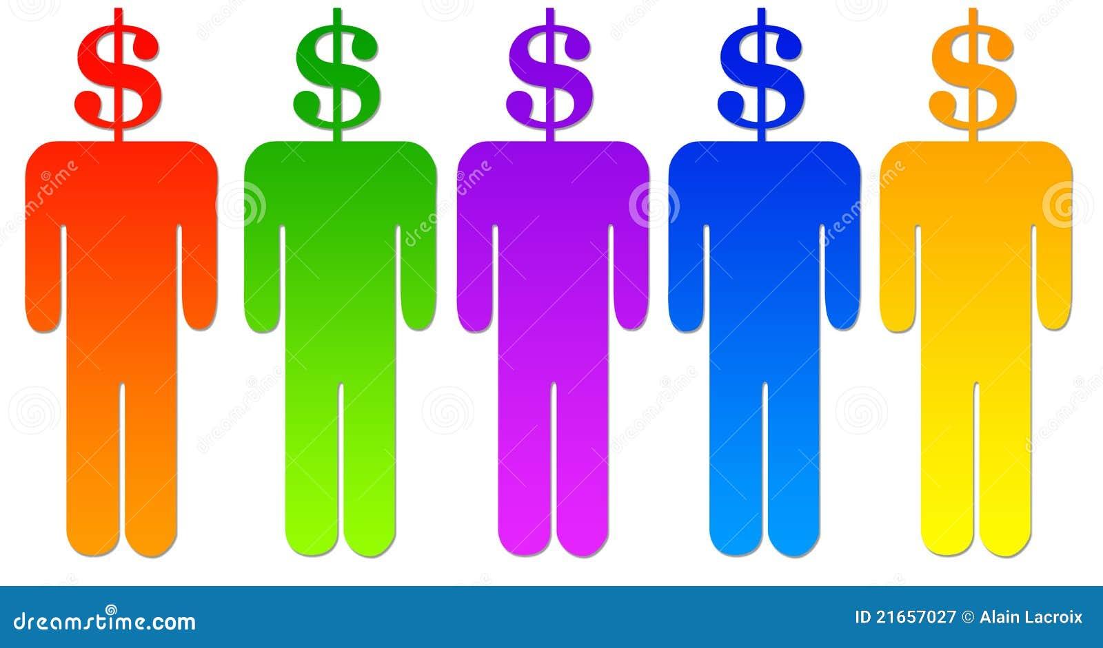 люди доллара