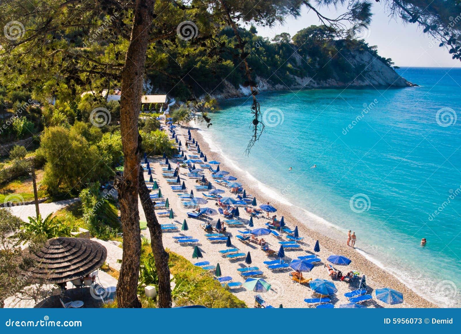 люди пляжа