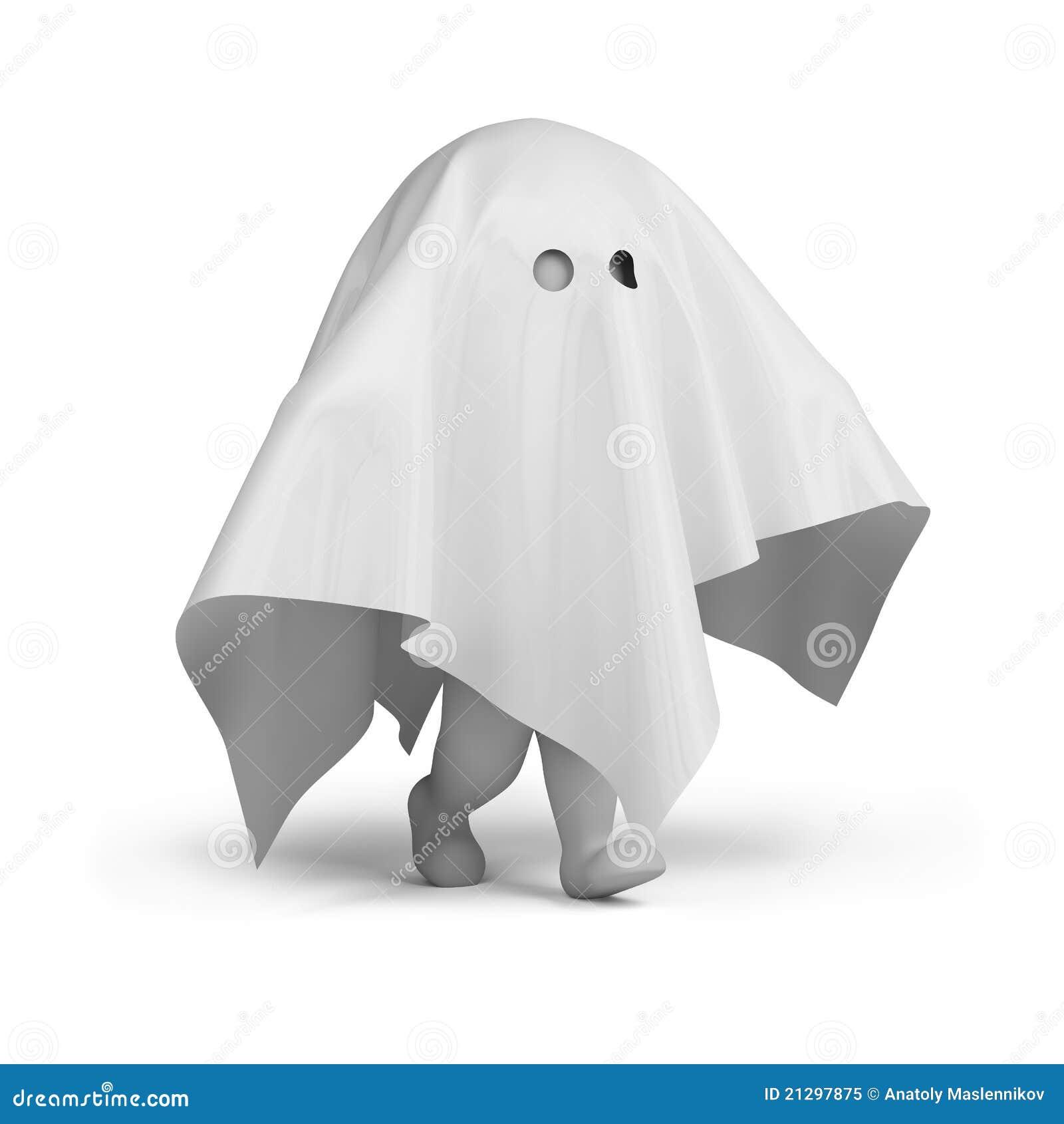 люди привидения costume 3d малые