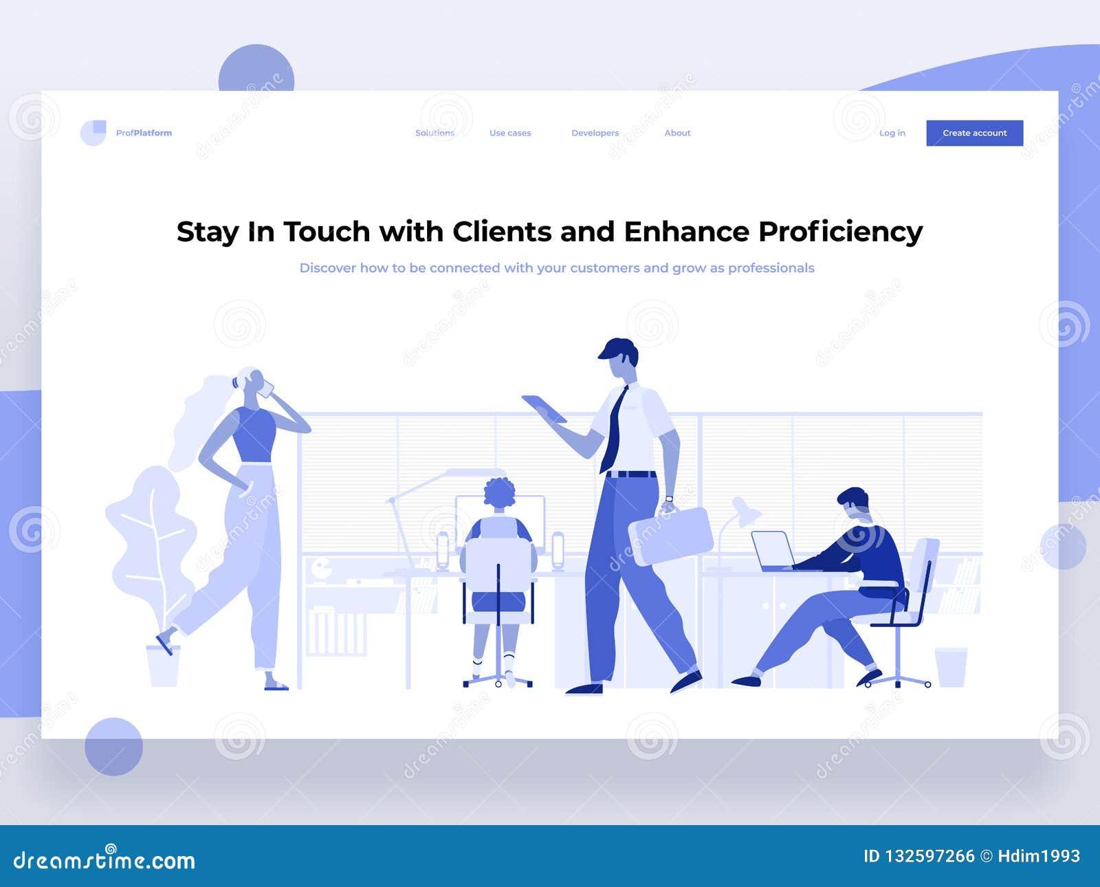 Люди работают в офисе и взаимодействуют с различными приборами Дело, управление потока операций и ситуации офиса