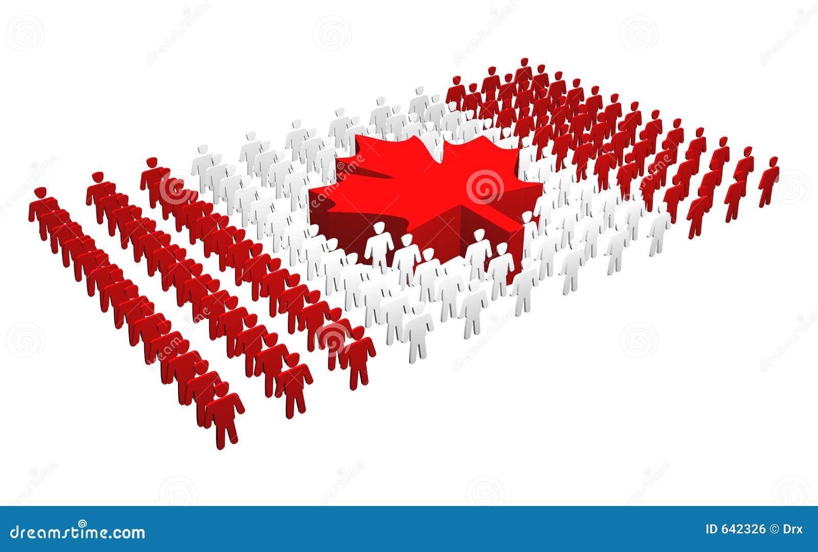 Download люди флага Канады канадские Иллюстрация штока - иллюстрации насчитывающей метафора, канада: 642326
