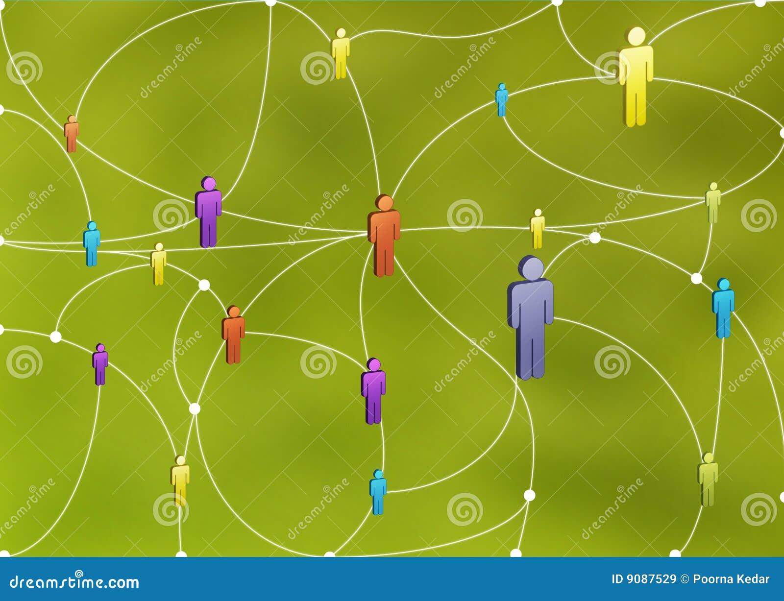 людская сеть