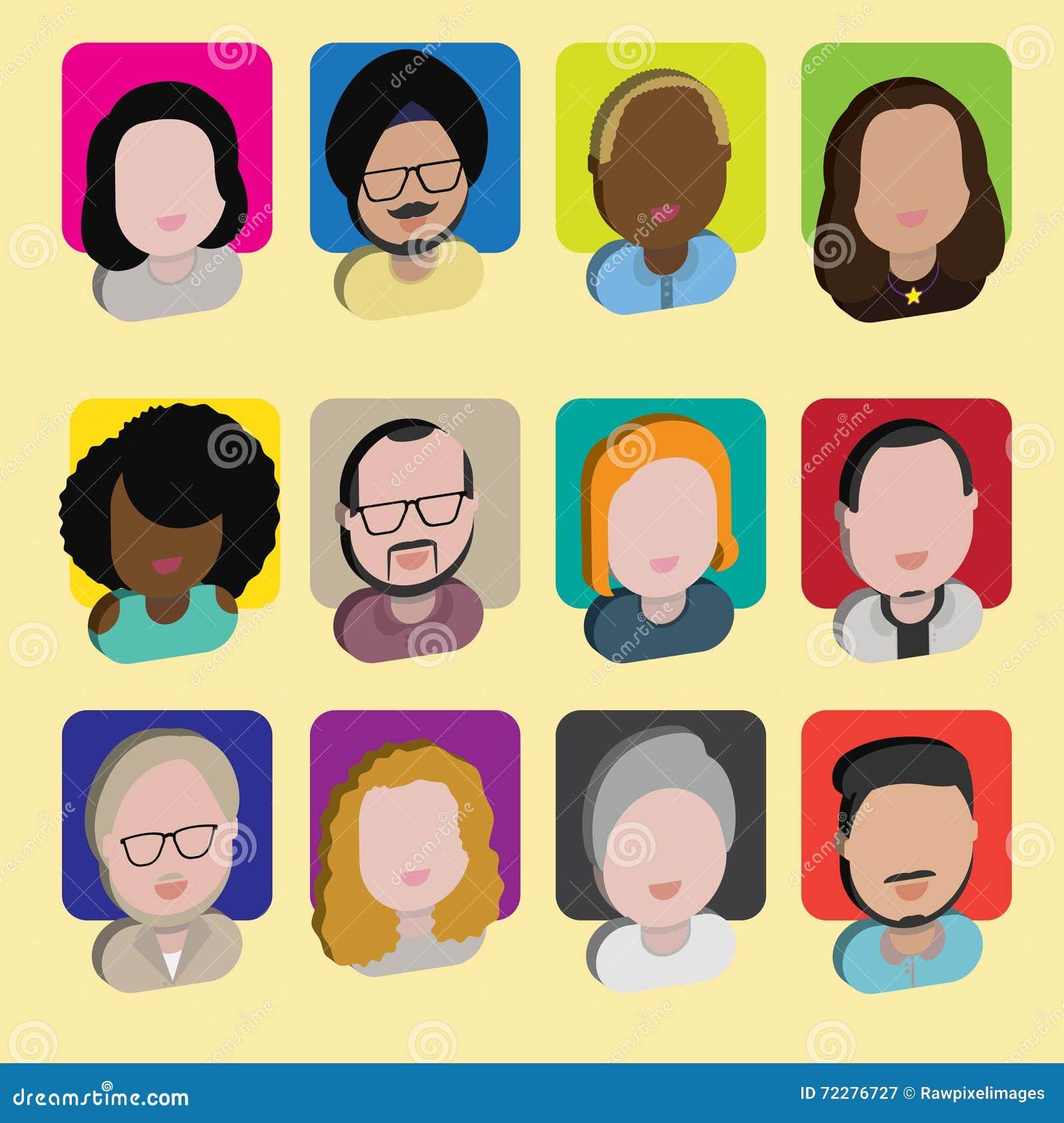 Download Людей общины разнообразия концепция значков дизайна межрасовых плоская Иллюстрация вектора - иллюстрации насчитывающей иллюстрация, сторона: 72276727