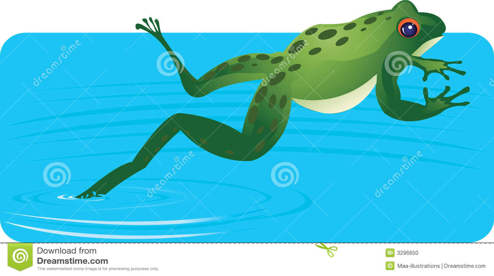 Лягушка воды