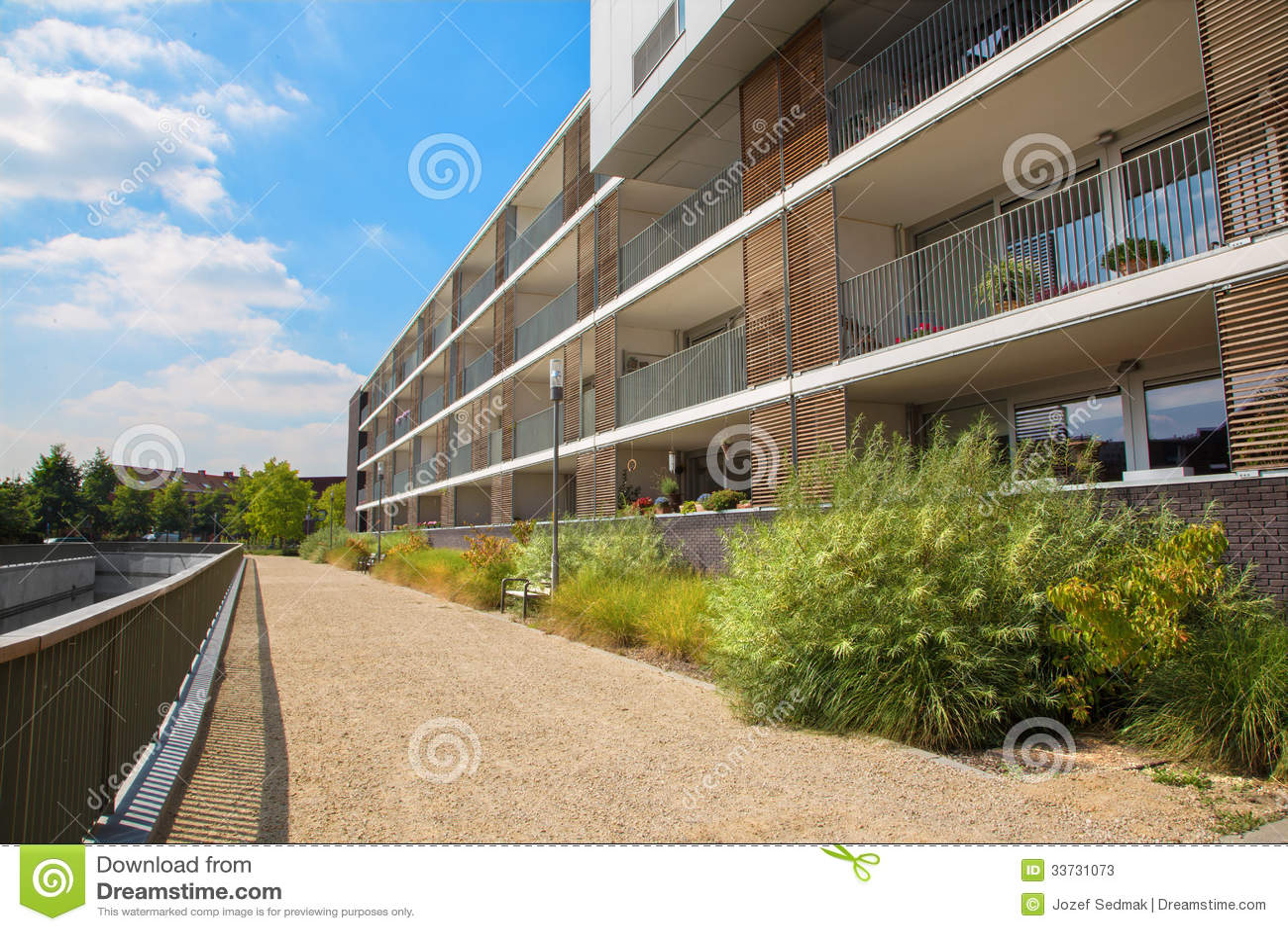 Лёвен - современное снабжение жилищем