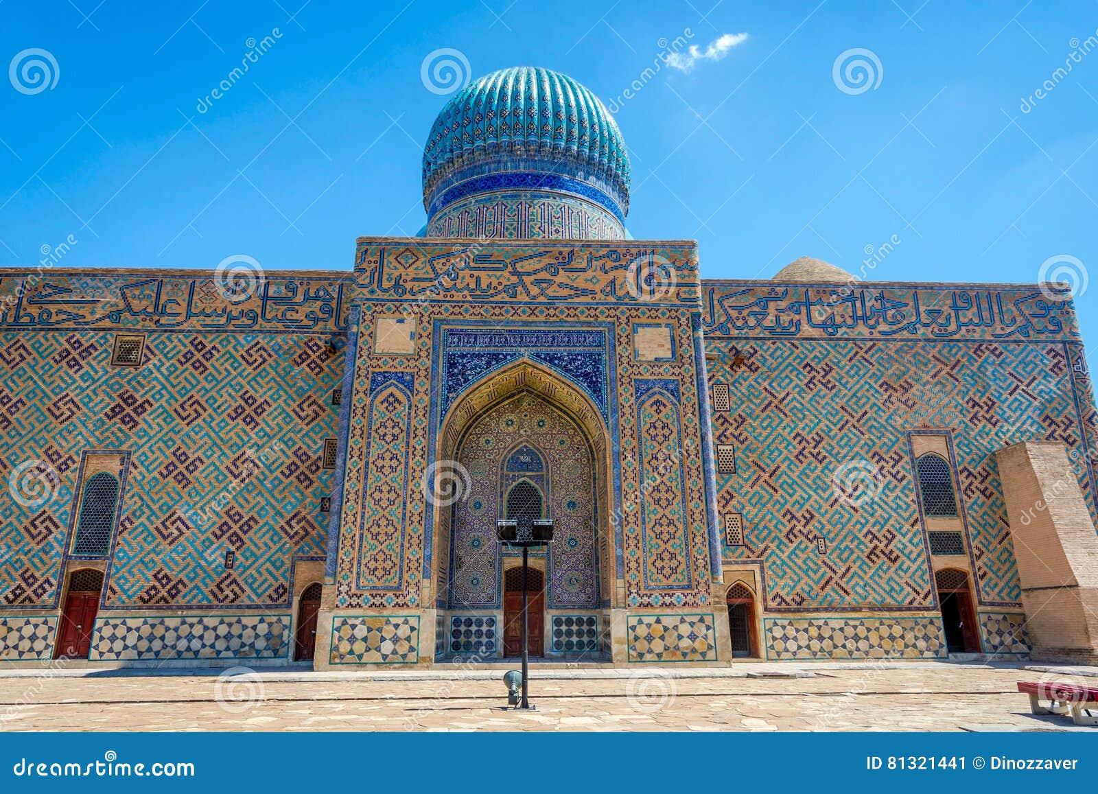 Мавзолей Turkistan, Казахстан