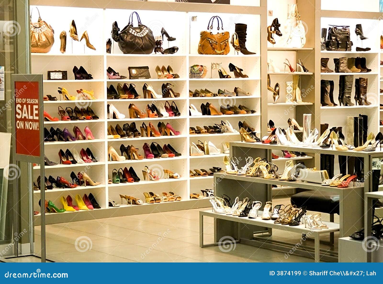 магазин ботинка