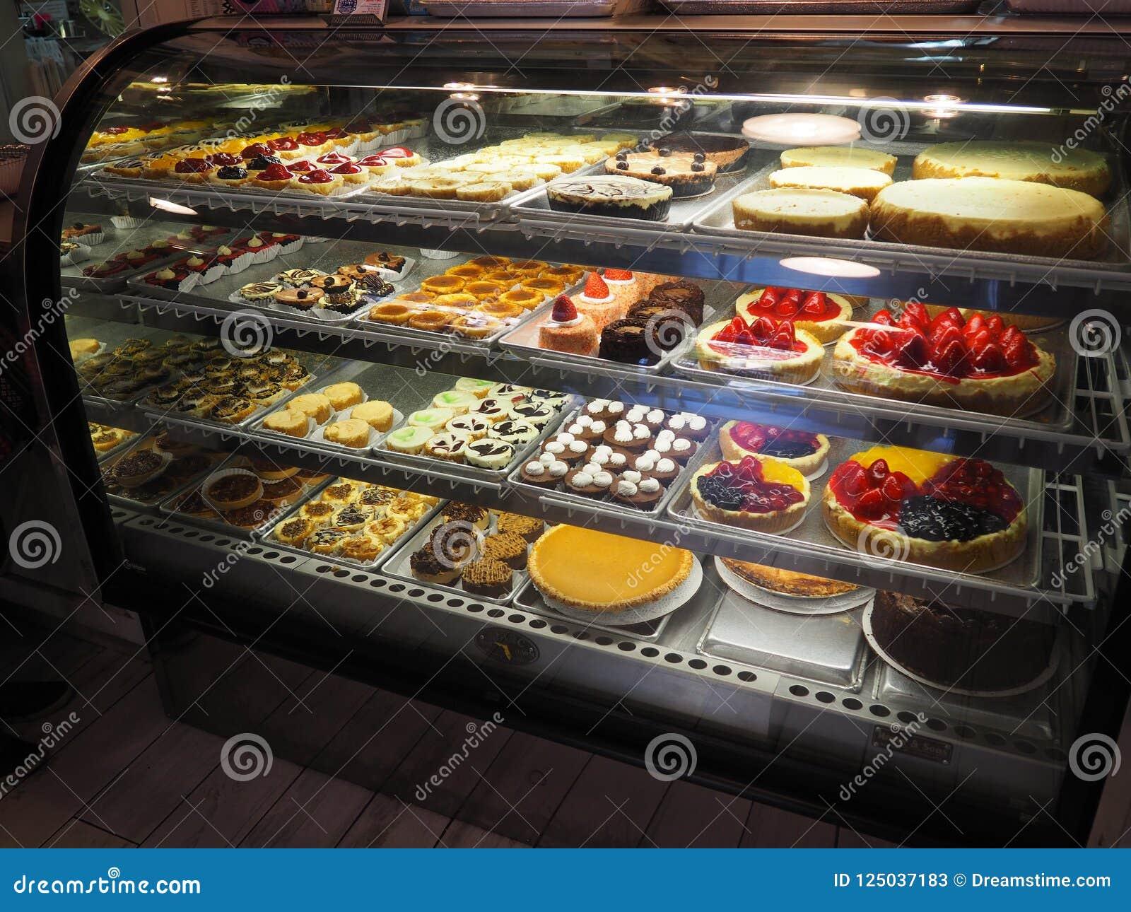 Магазин пирожного в Нью-Йорке, США