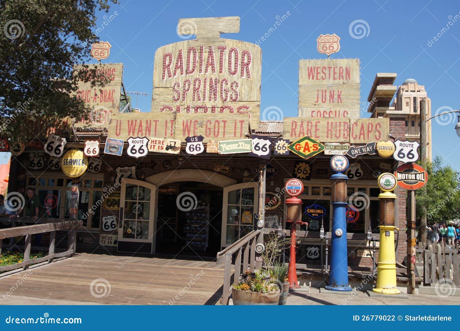 Магазин подарков и сувениров на приключении Калифорния