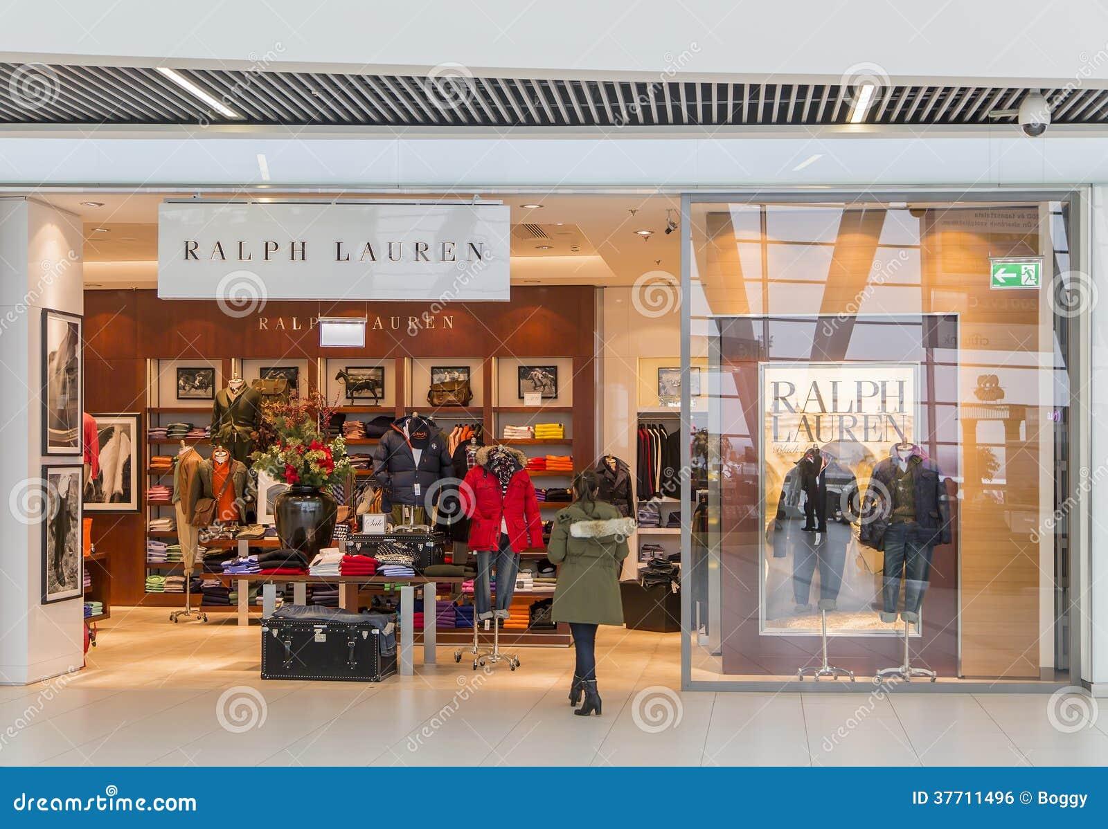 fb31d3b2ed00 Магазин Ральф Лорен редакционное фото. изображение насчитывающей ...