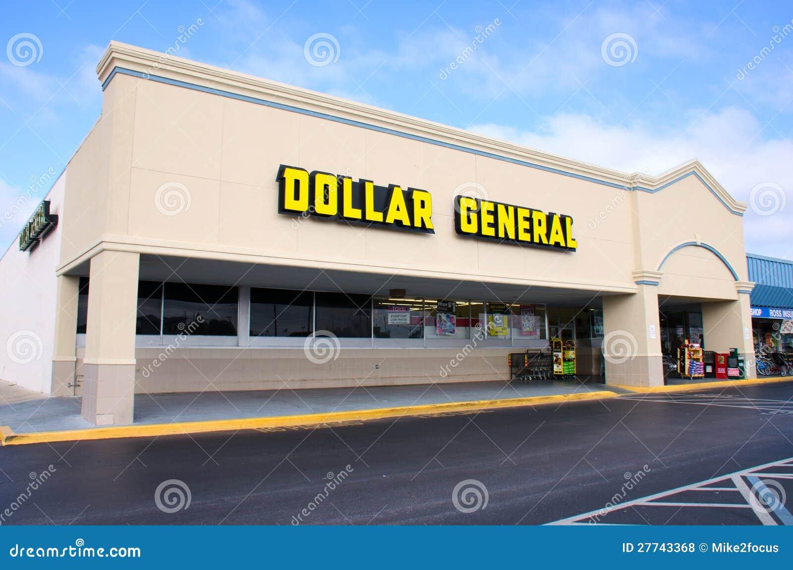 Магазин розничной торговли рабата доллара общий