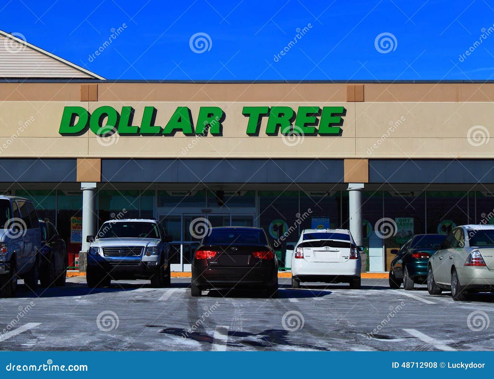 Магазин уцененных товаров дерева доллара