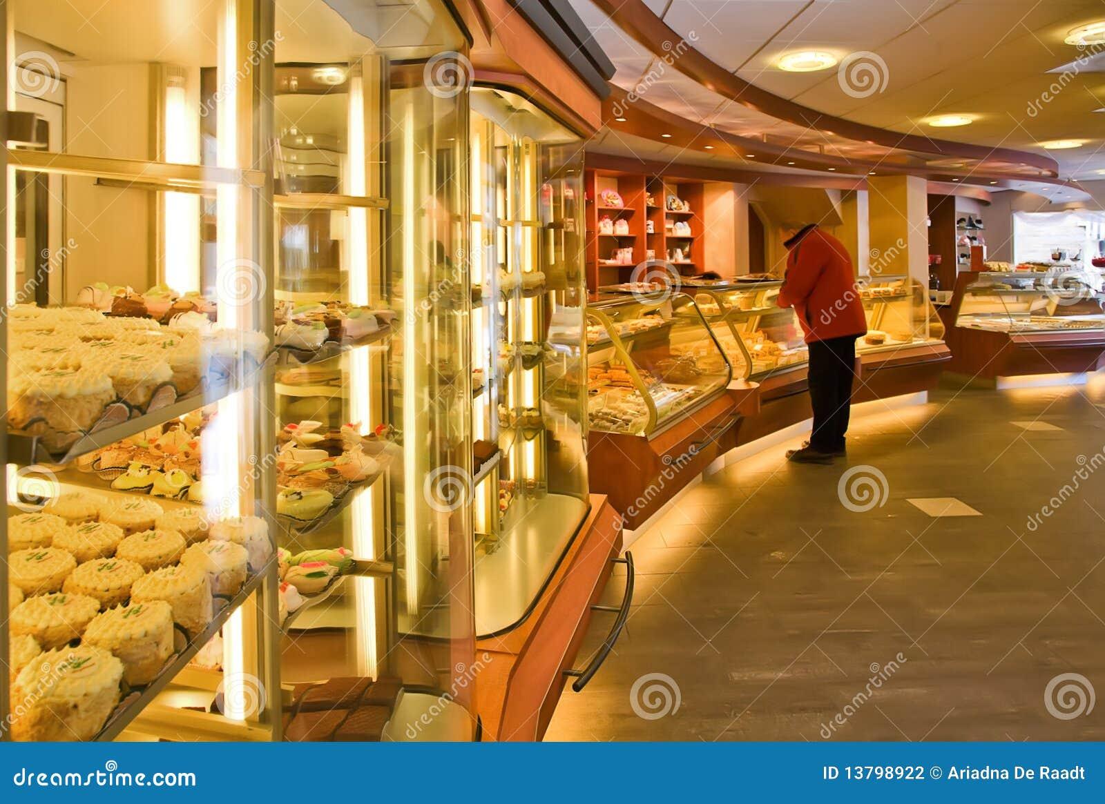 магазин хлебопекарни