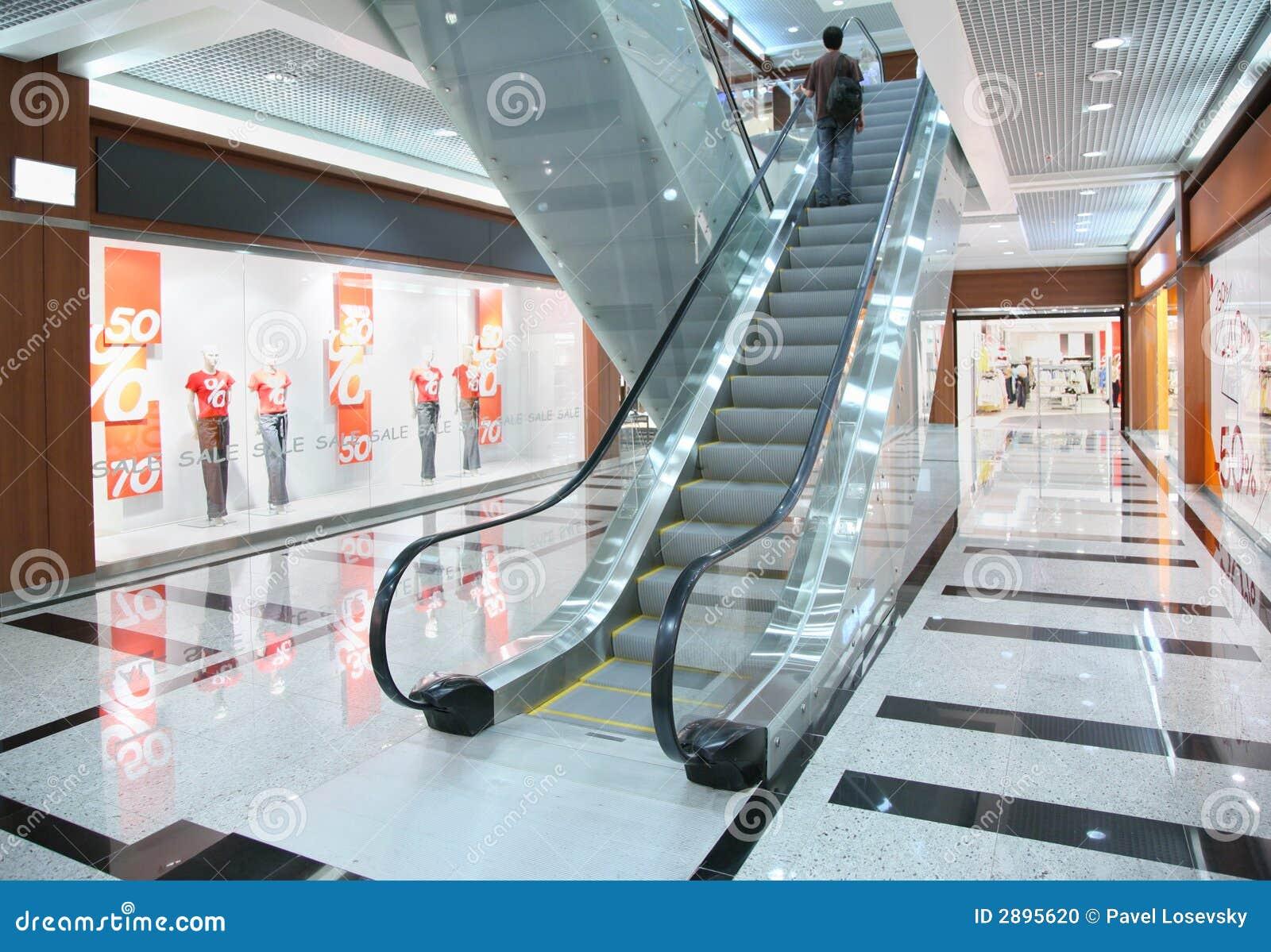 магазин эскалатора